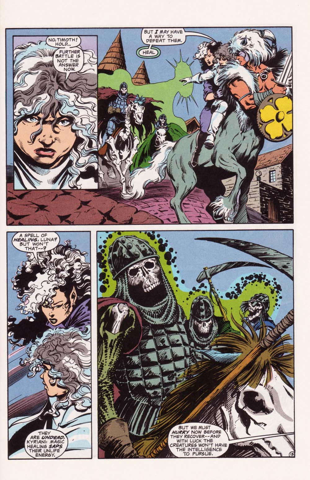 Read online Advanced Dungeons & Dragons comic -  Issue #22 - 13