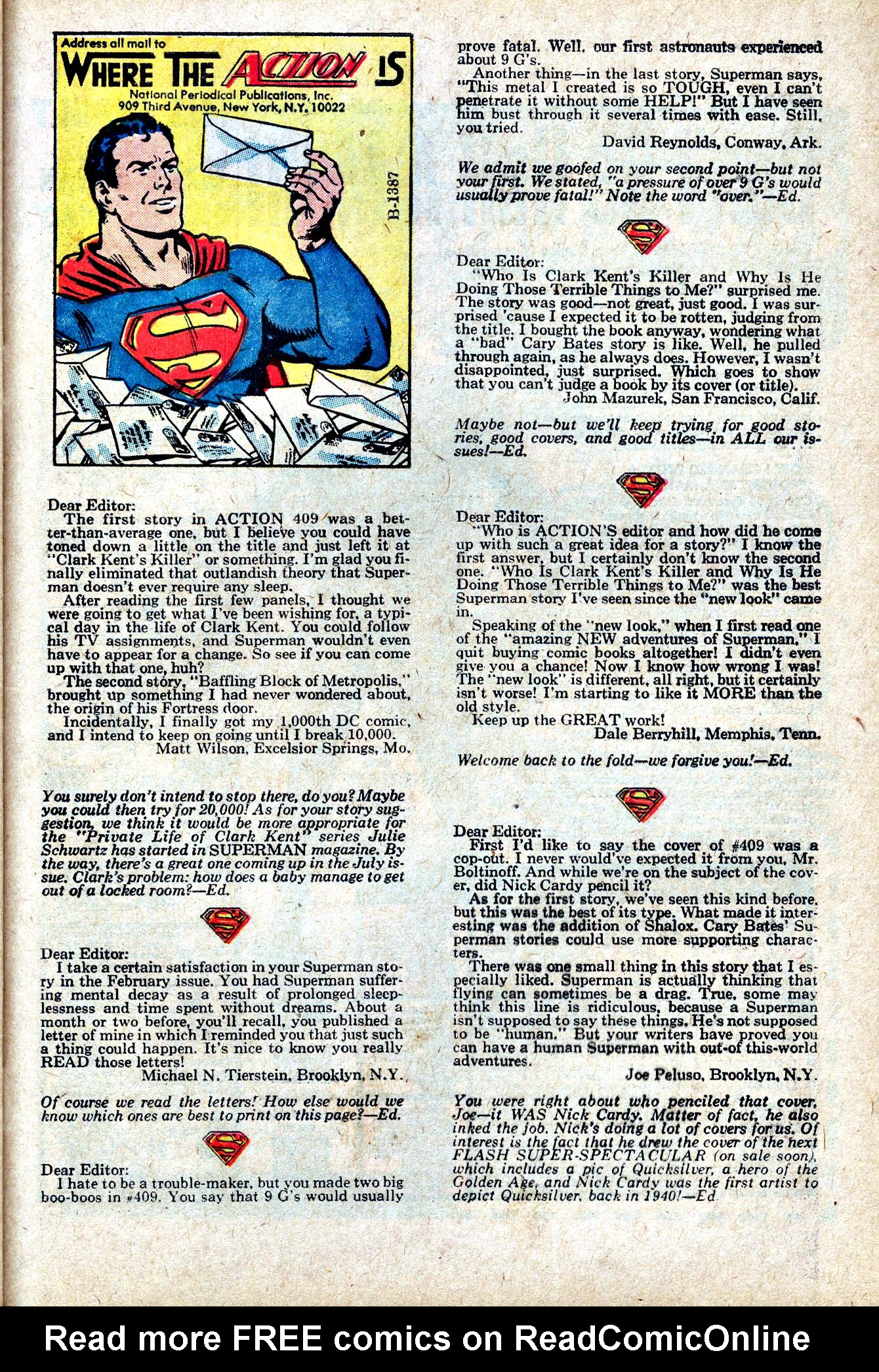 Read online Action Comics (1938) comic -  Issue #413 - 50