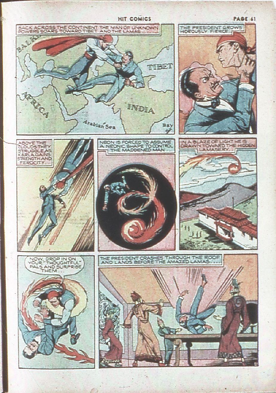 Read online Hit Comics comic -  Issue #7 - 63