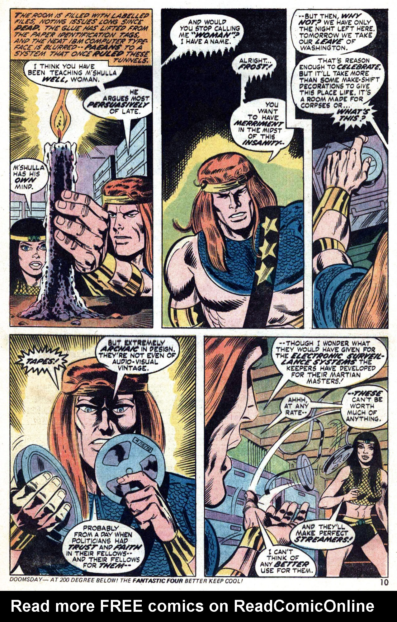 Read online Amazing Adventures (1970) comic -  Issue #24 - 11