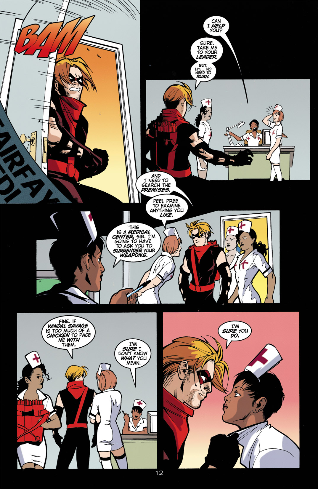 Read online Arsenal comic -  Issue #2 - 13