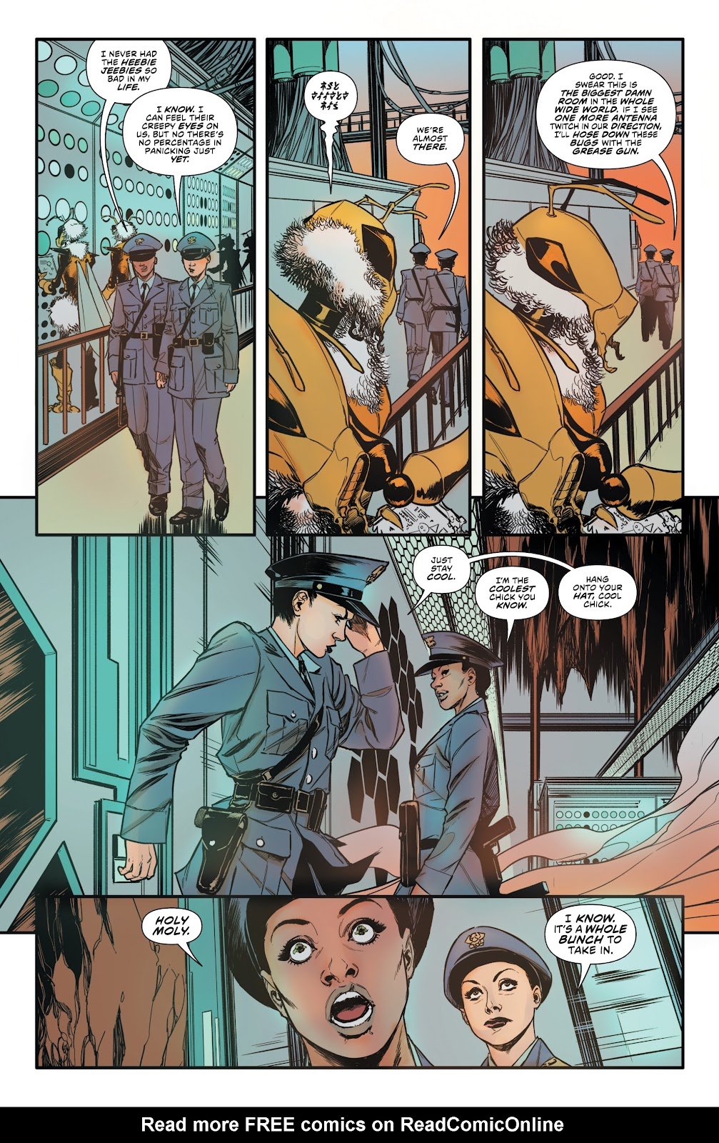 Read online Bettie Page: Unbound comic -  Issue #10 - 11