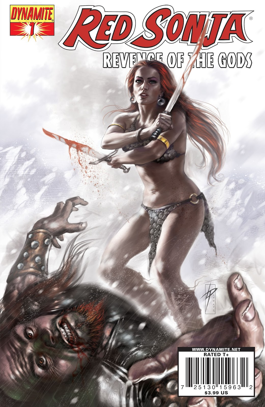 Red Sonja: Revenge of the Gods issue 1 - Page 1