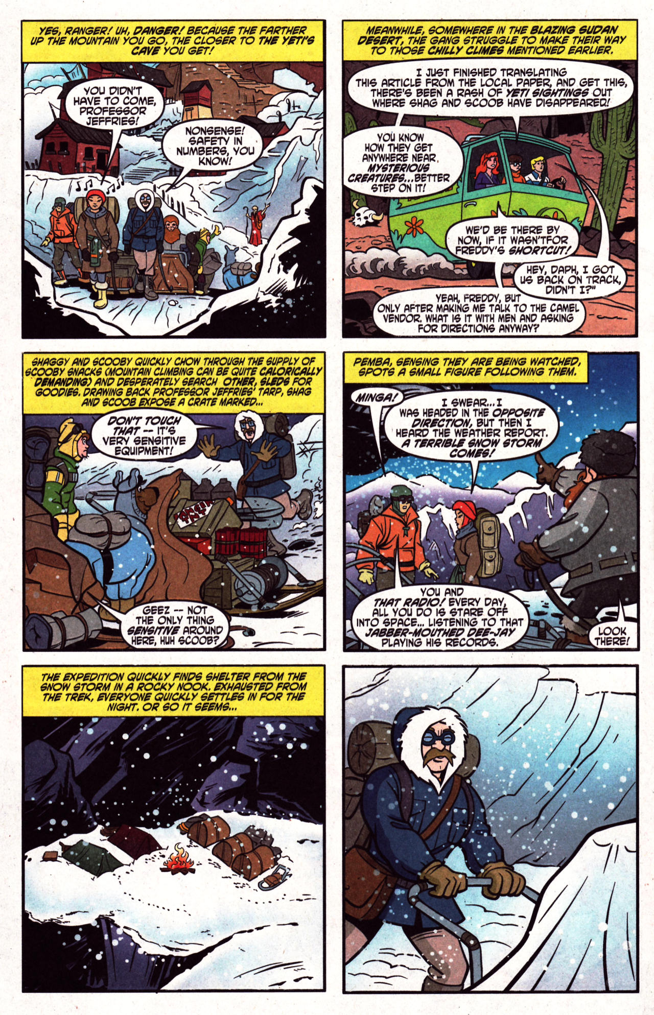 Read online Scooby-Doo (1997) comic -  Issue #124 - 7