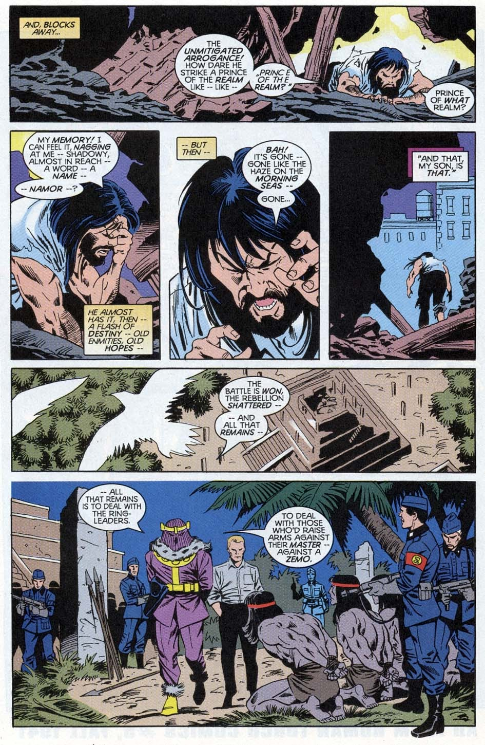 Thunderbolts: Distant Rumblings issue Full - Page 22