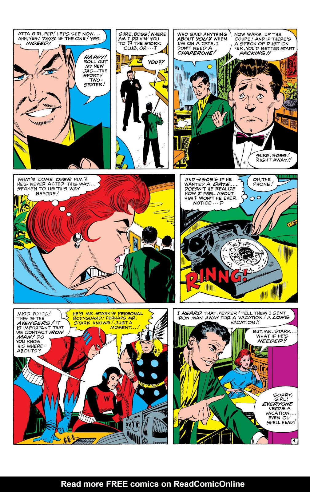 Read online Marvel Masterworks: The Invincible Iron Man comic -  Issue # TPB 2 (Part 1) - 85