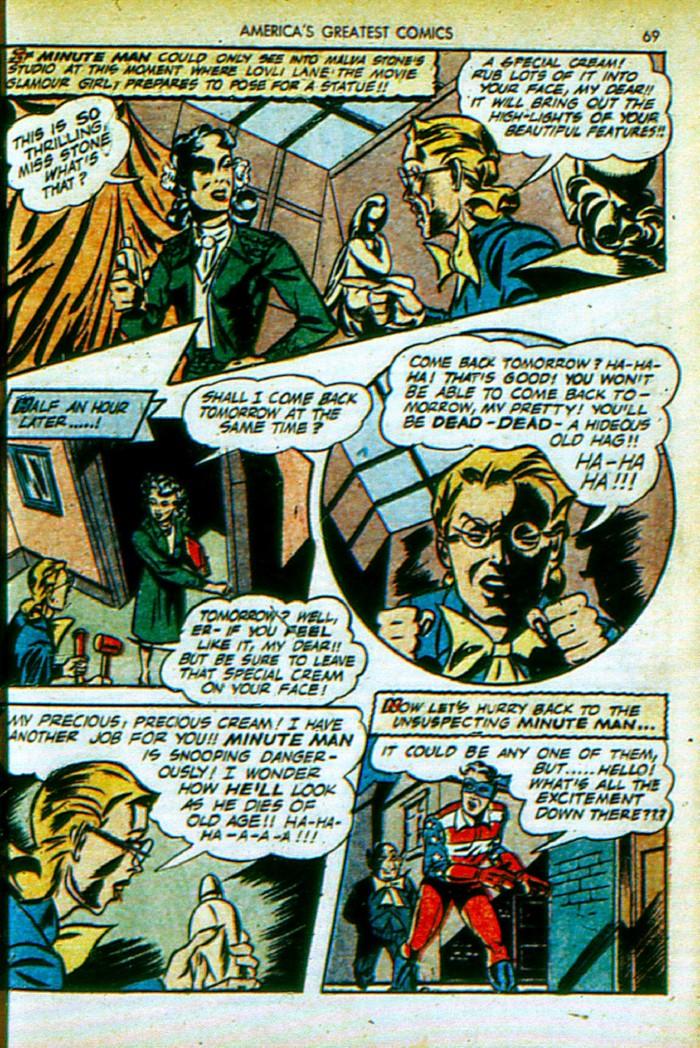Read online America's Greatest Comics comic -  Issue #4 - 70