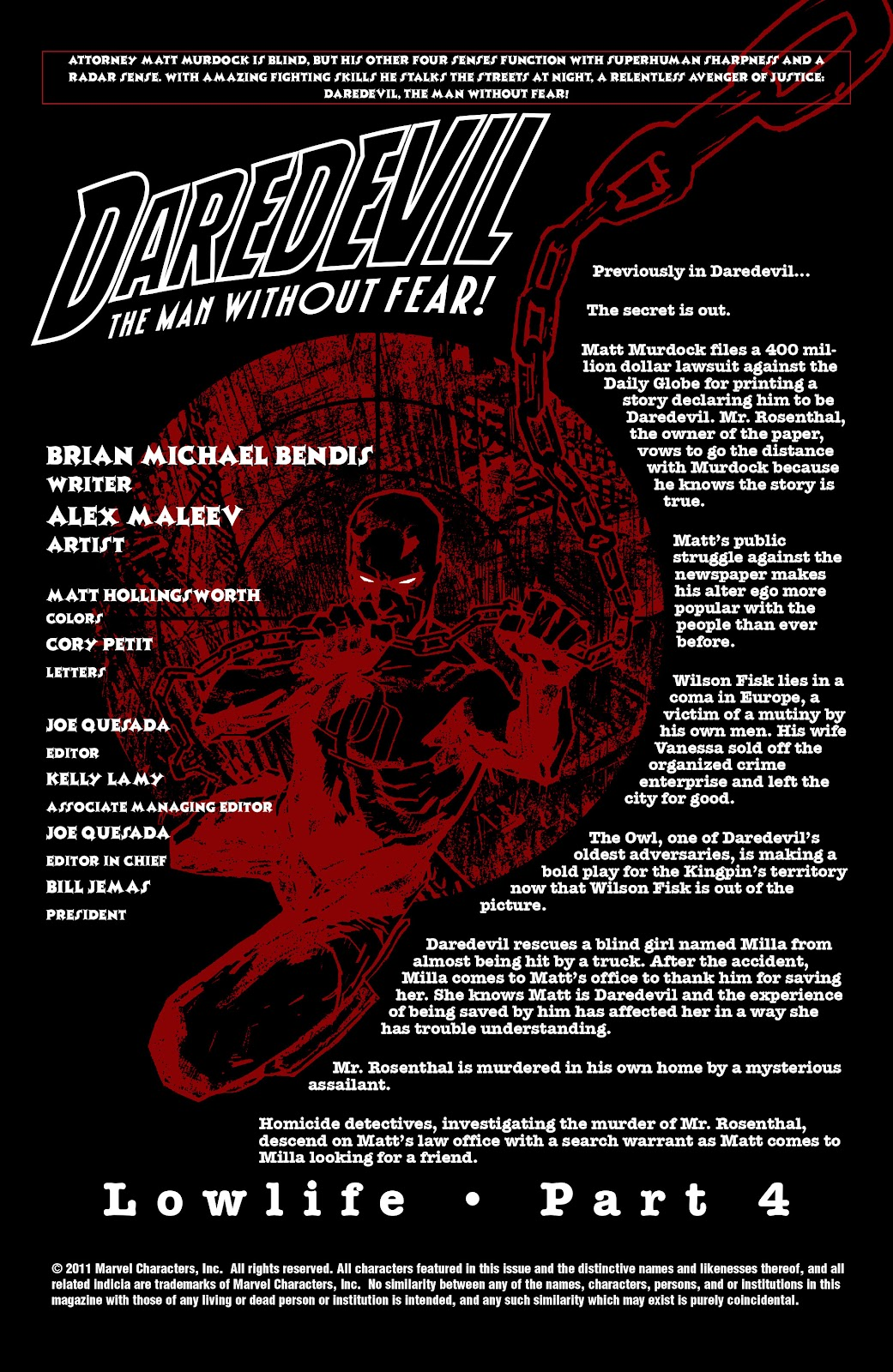 Read online Daredevil (1998) comic -  Issue # _Ultimate_Collection TPB 2 (Part 1) - 74