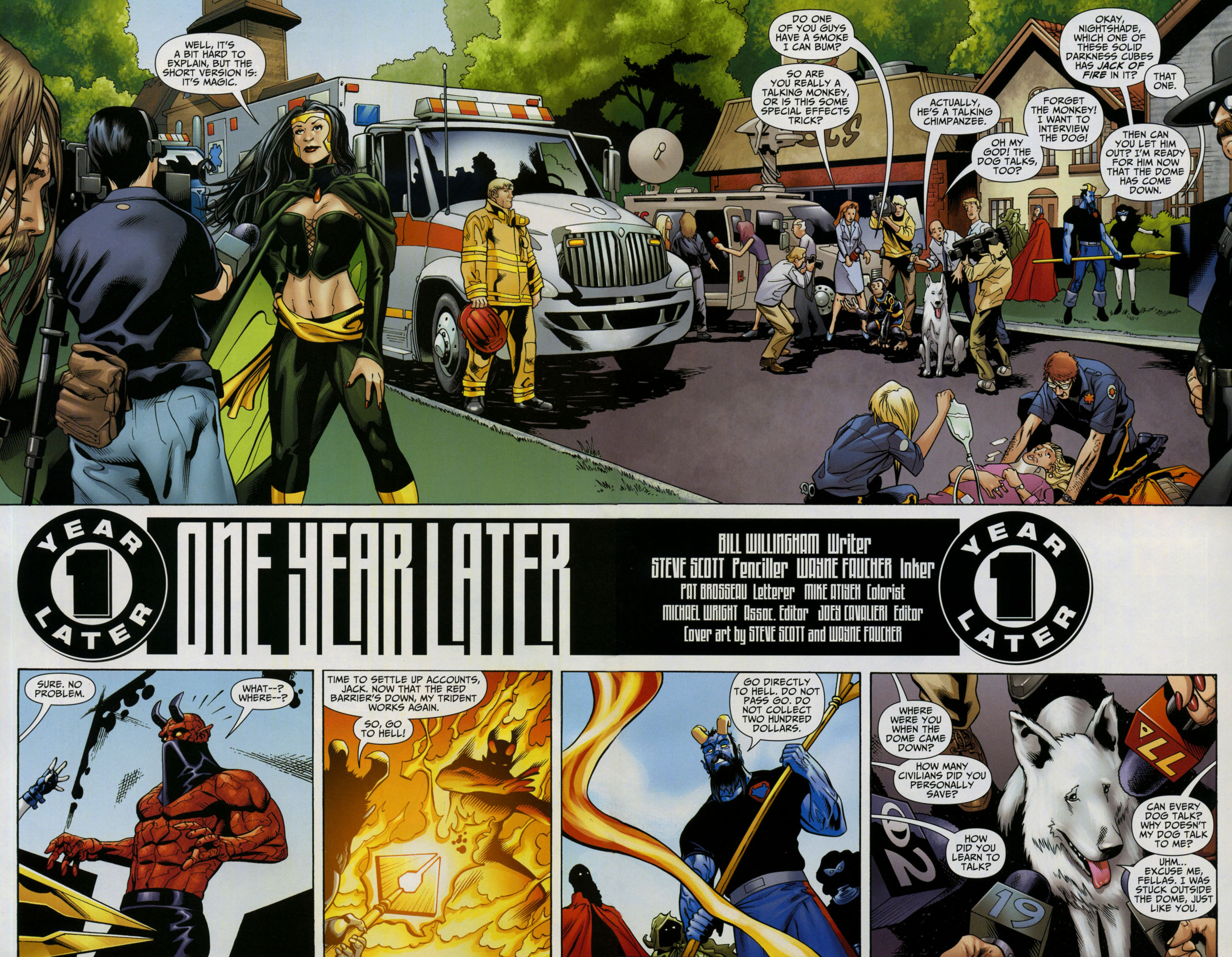 Read online Shadowpact comic -  Issue #5 - 3