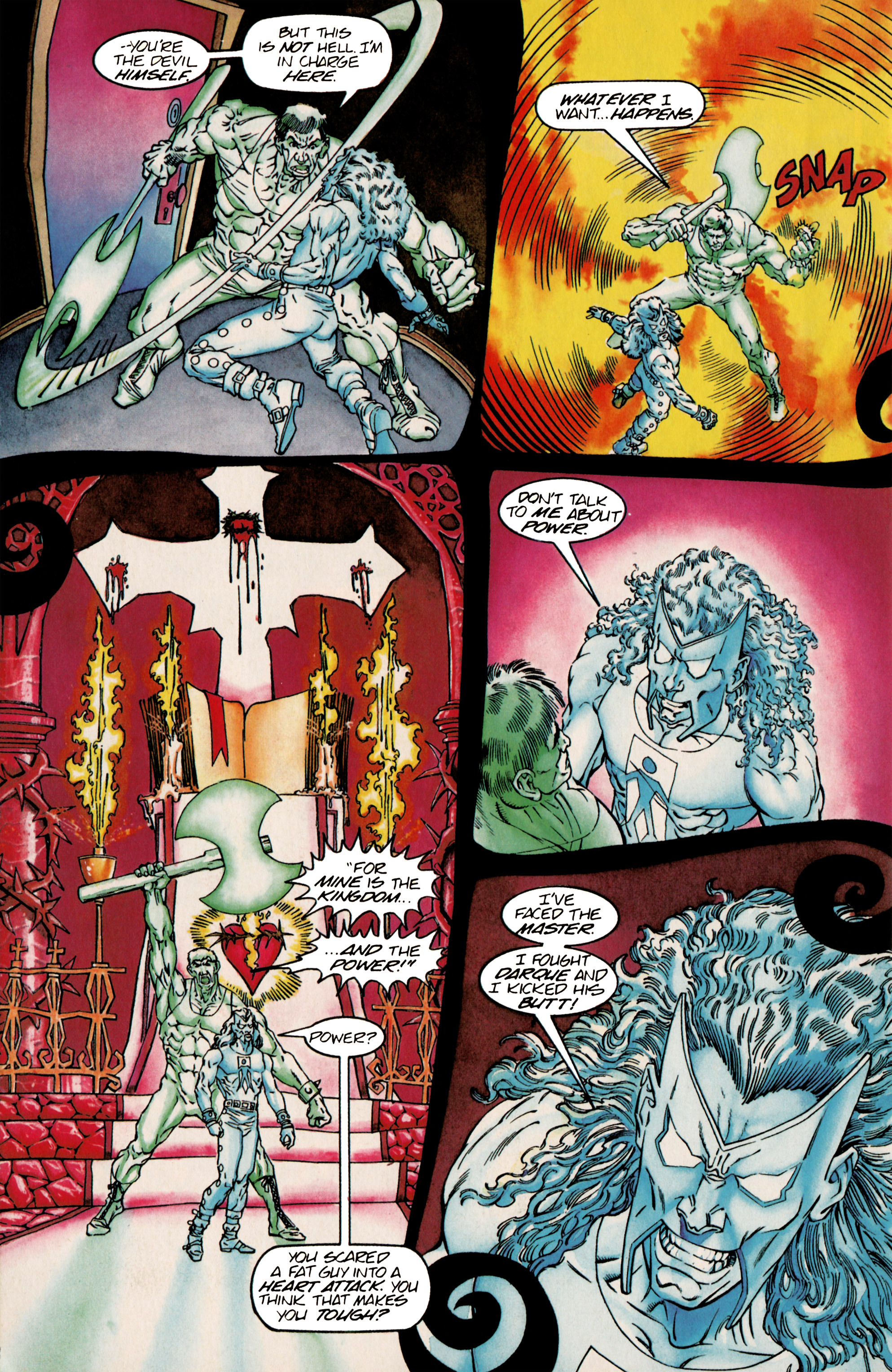 Read online Shadowman (1992) comic -  Issue #25 - 19