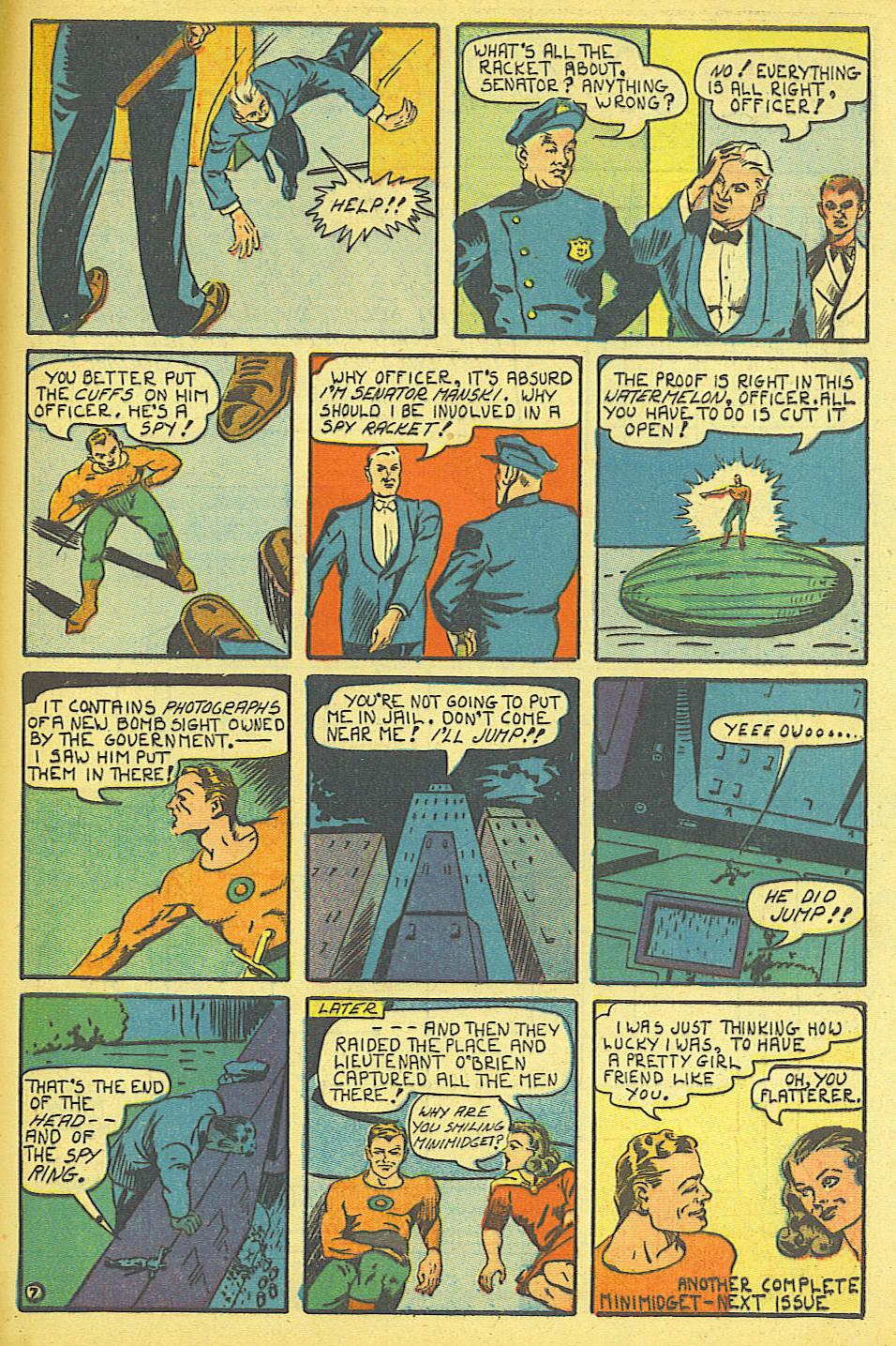 Read online Amazing Man Comics comic -  Issue #19 - 65