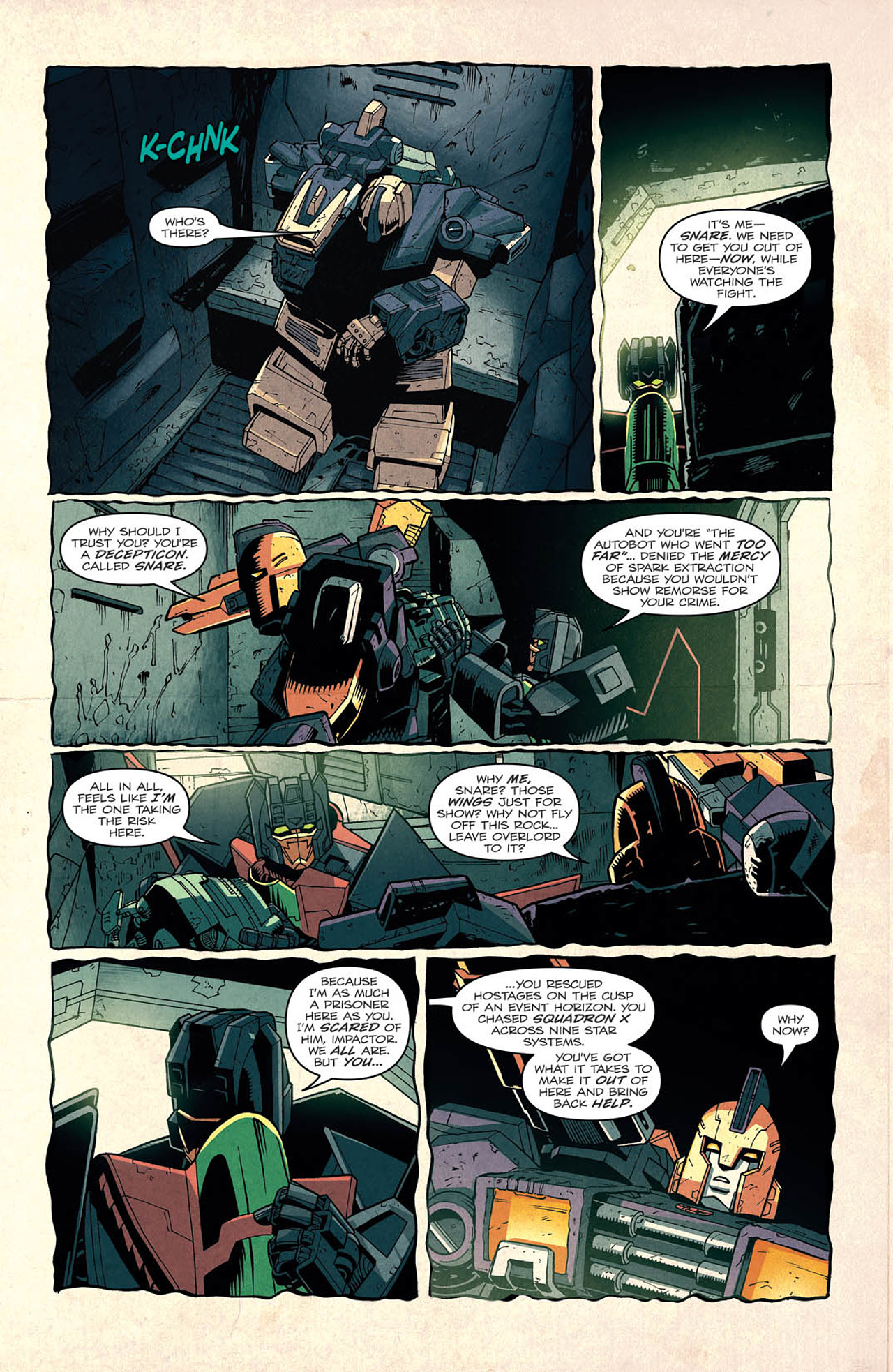 Read online Transformers: Last Stand of The Wreckers comic -  Issue #2 - 10