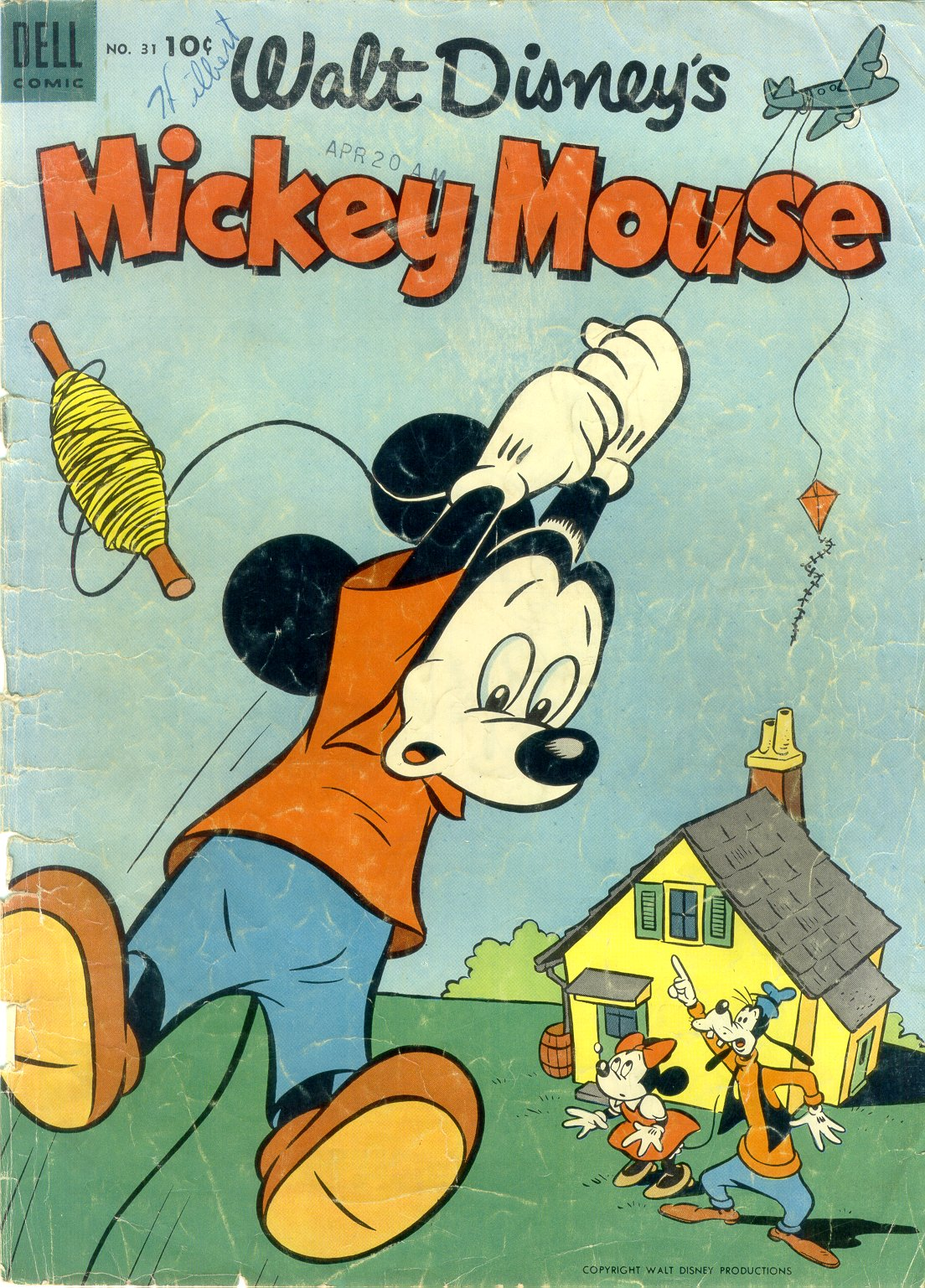 Walt Disney's Mickey Mouse issue 31 - Page 1