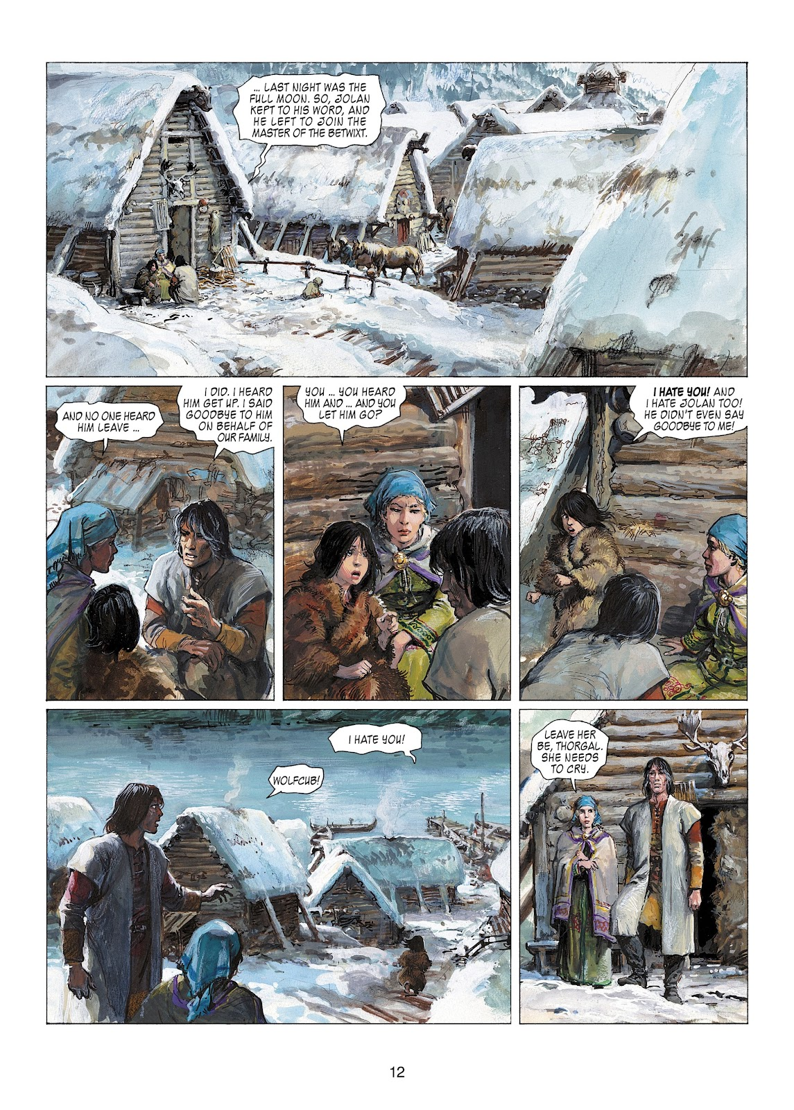 Read online Thorgal comic -  Issue #22 - 14
