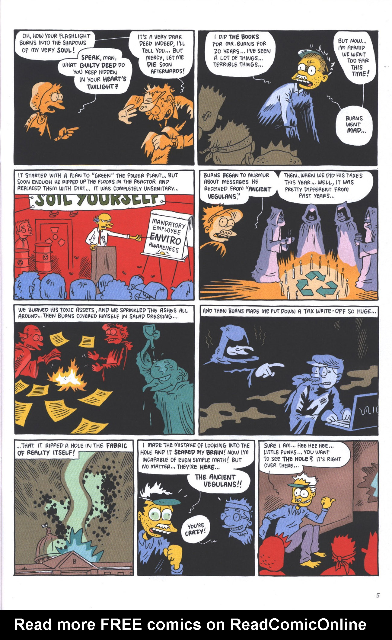 Read online Treehouse of Horror comic -  Issue #15 - 8