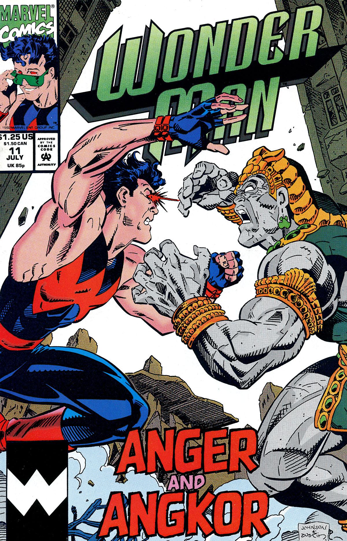 Read online Wonder Man (1991) comic -  Issue #11 - 1