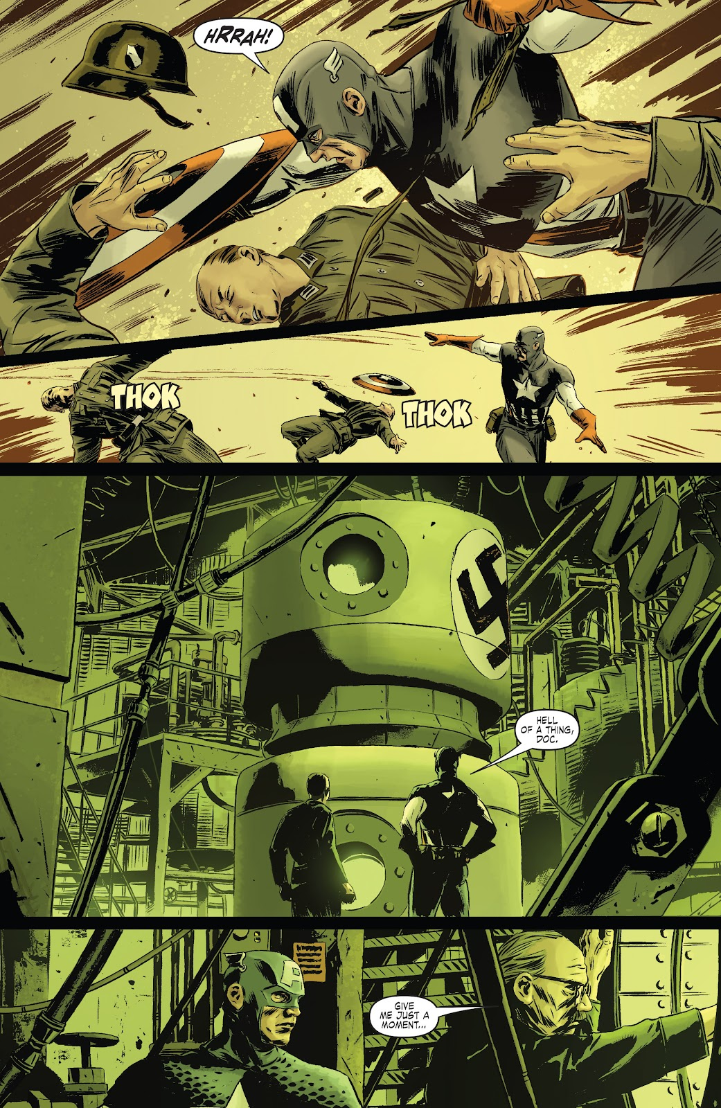 Read online Captain America Theater Of War: Operation Zero-Point comic -  Issue # Full - 18