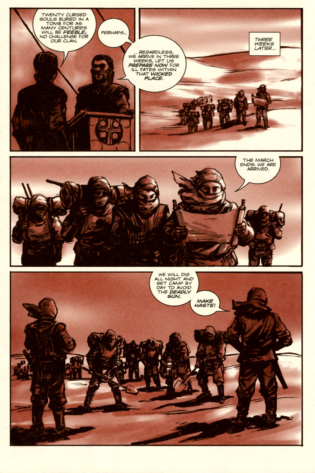 Read online Sea of Red comic -  Issue #5 - 14