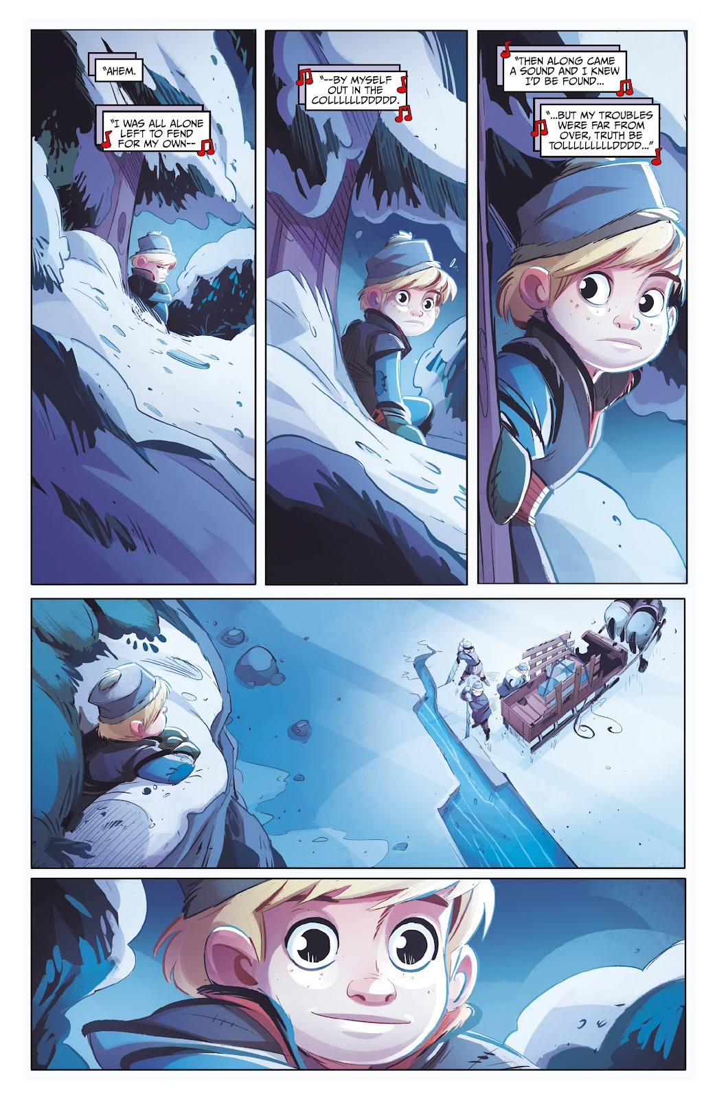 Read online Disney Frozen: The Hero Within comic -  Issue #2 - 4