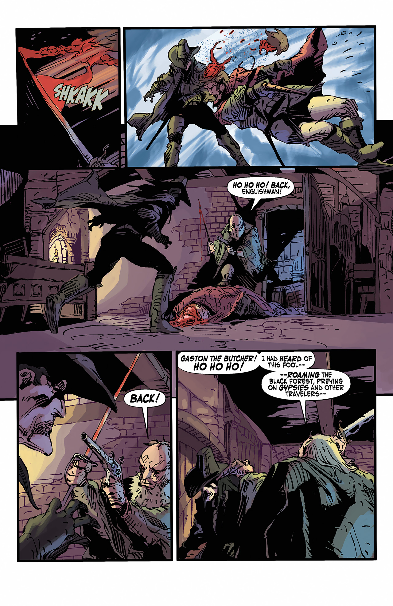 Read online Solomon Kane: Death's Black Riders comic -  Issue #2 - 18