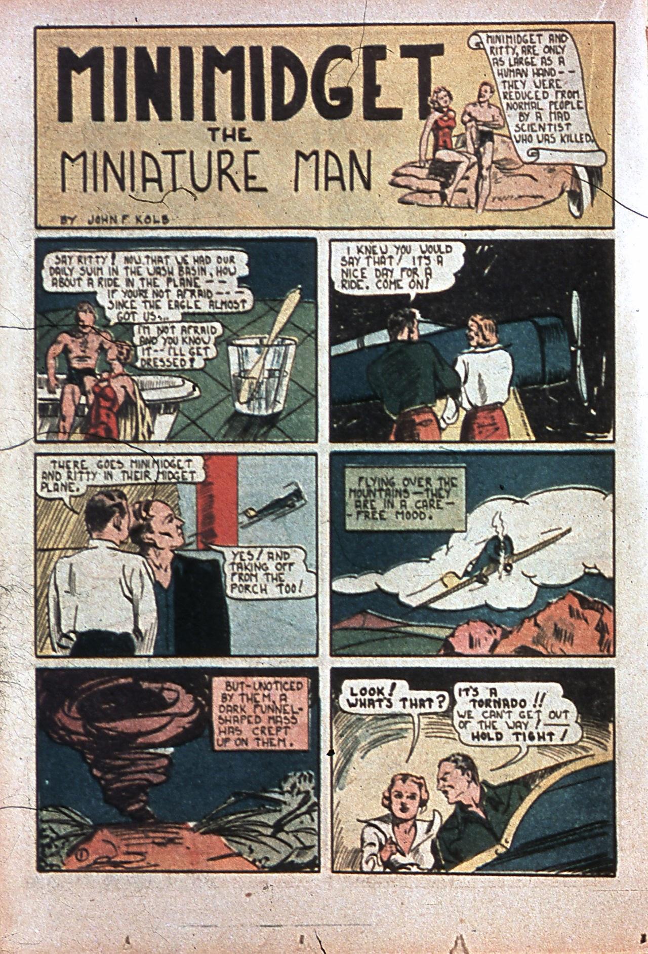 Read online Amazing Man Comics comic -  Issue #7 - 37
