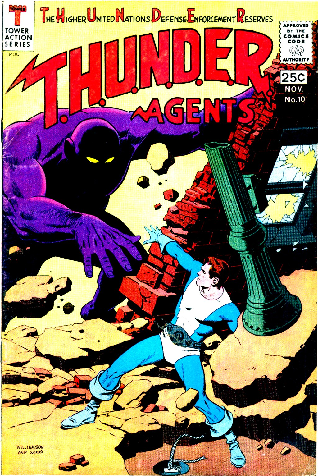 T.H.U.N.D.E.R. Agents (1965) issue 10 - Page 1