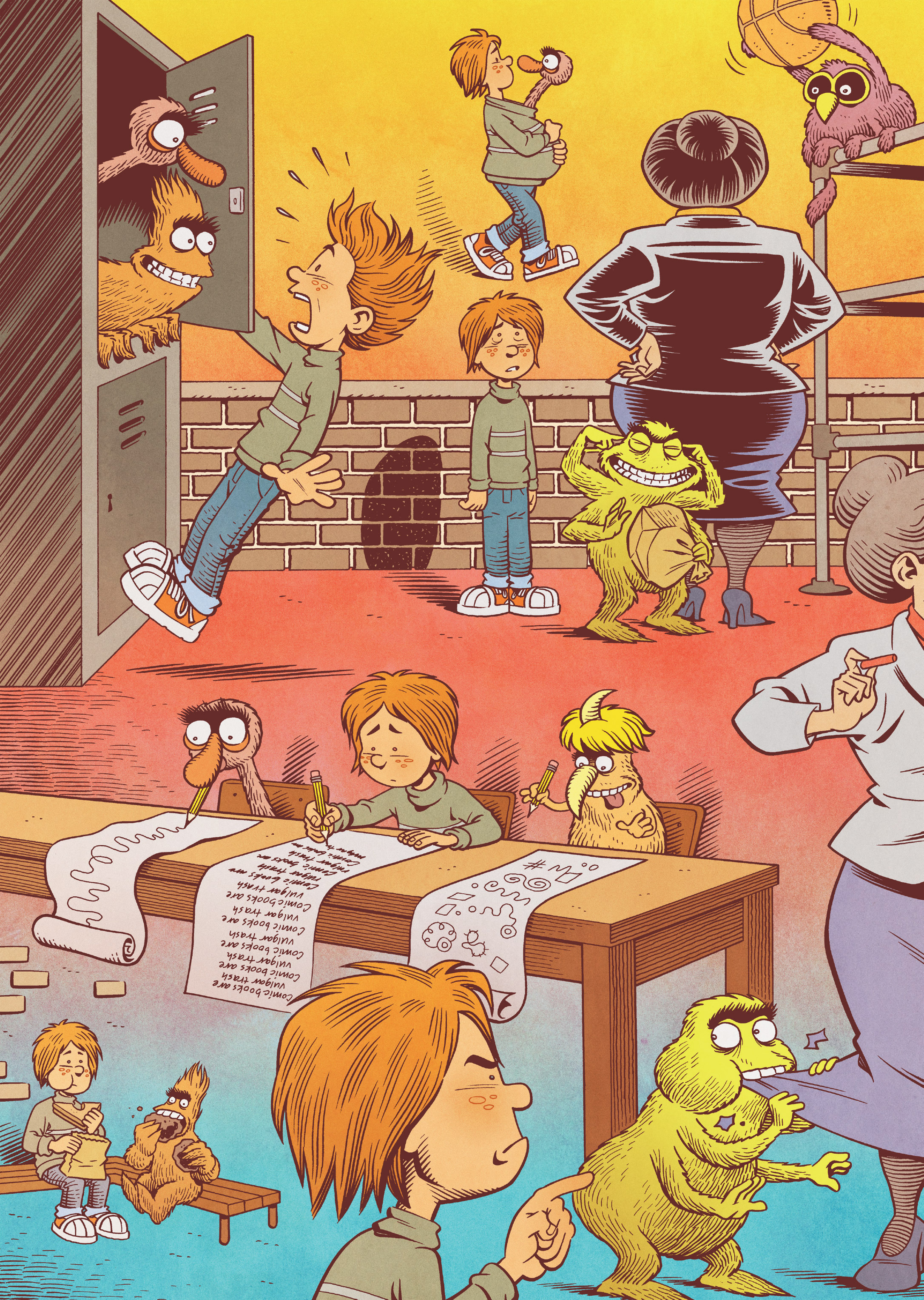Read online Jim Henson's The Musical Monsters of Turkey Hollow comic -  Issue # Full - 44