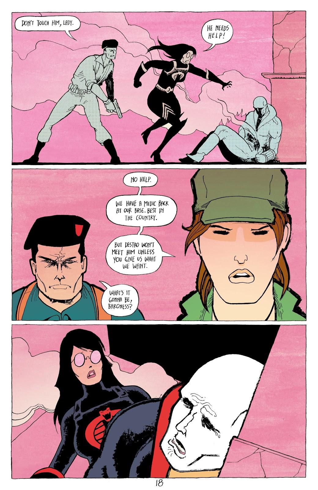 Read online G.I. Joe: Sierra Muerte comic -  Issue #2 - 20