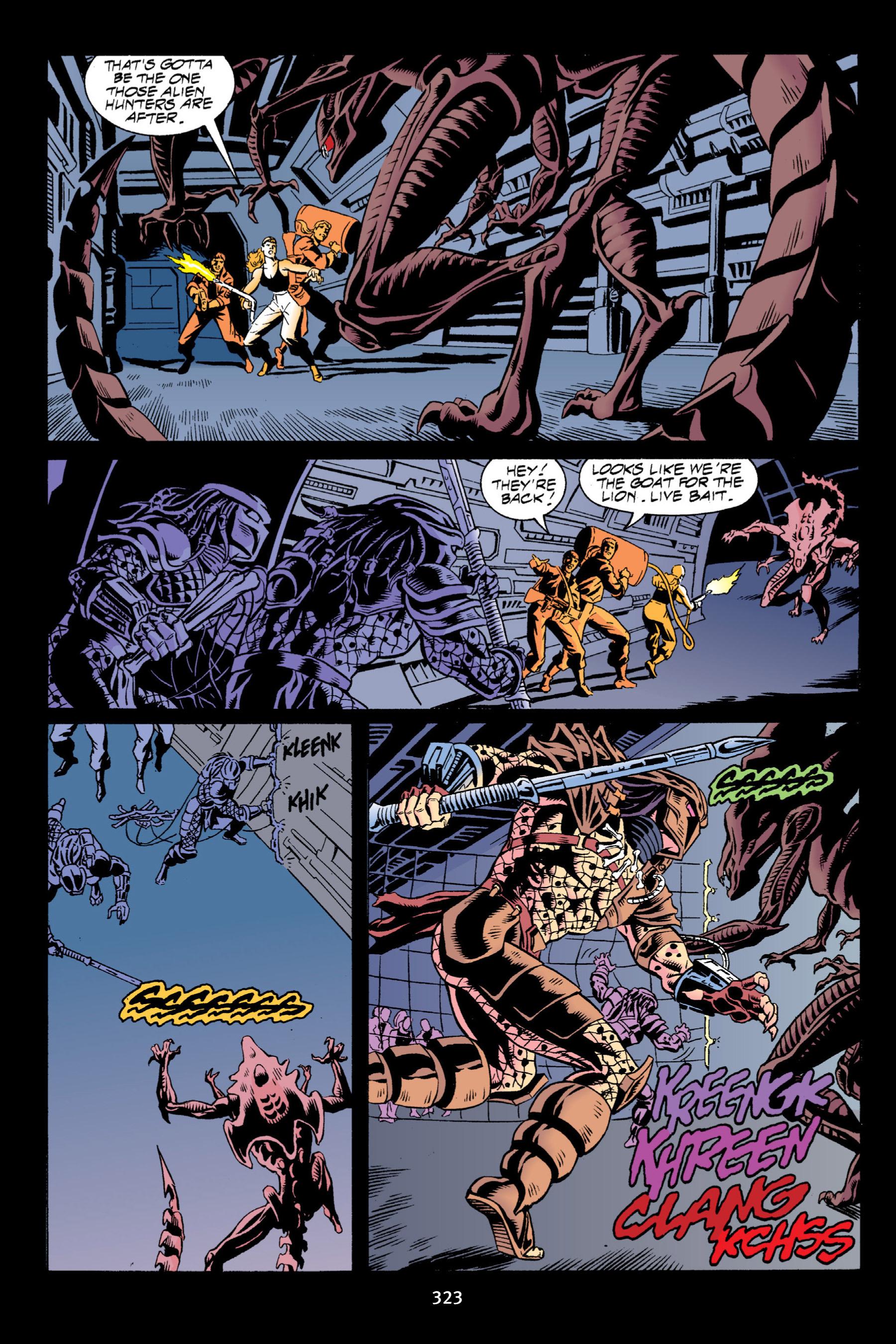 Read online Aliens vs. Predator Omnibus comic -  Issue # _TPB 2 Part 3 - 98