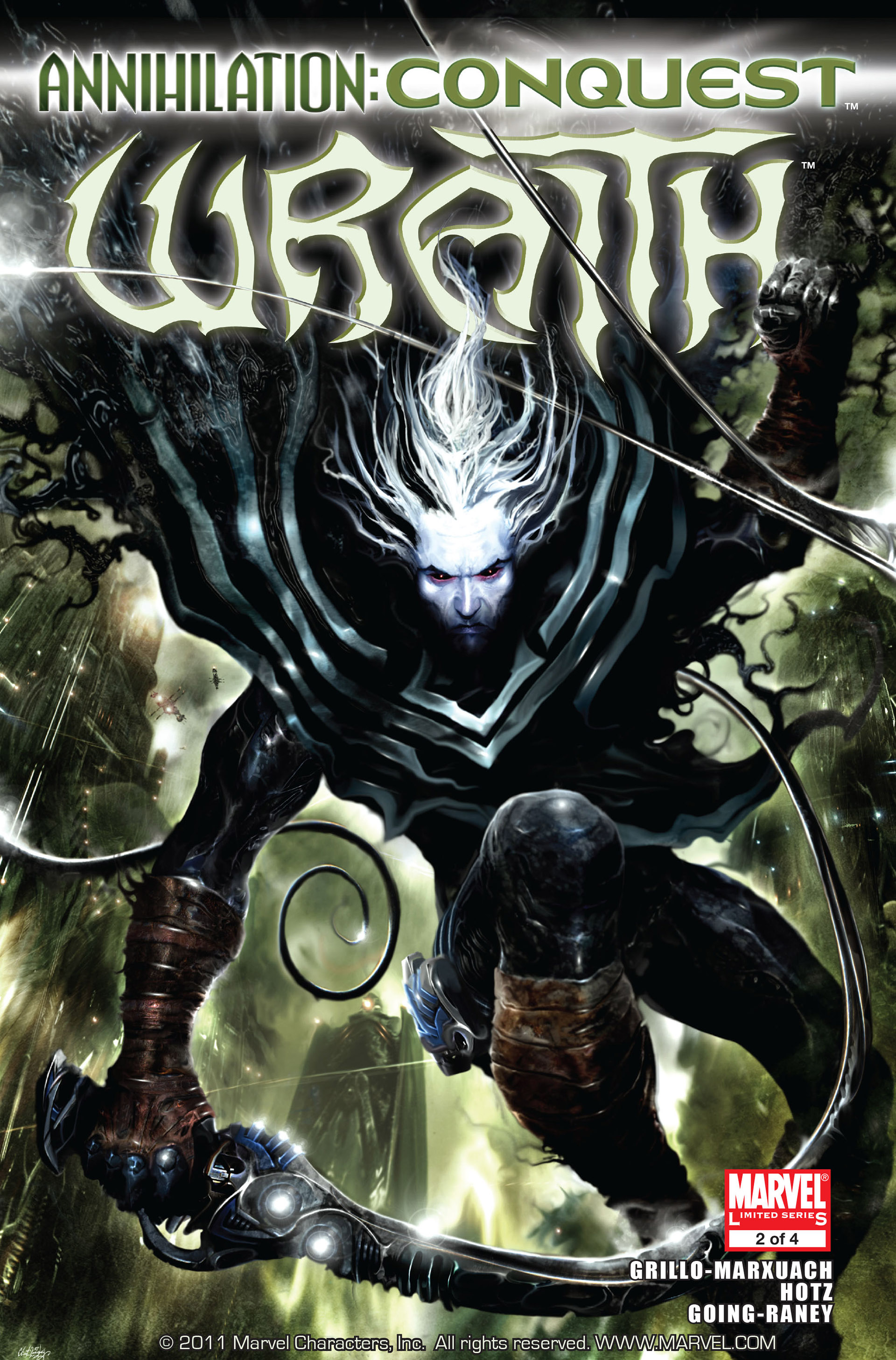 Read online Annihilation: Conquest - Wraith comic -  Issue #2 - 1