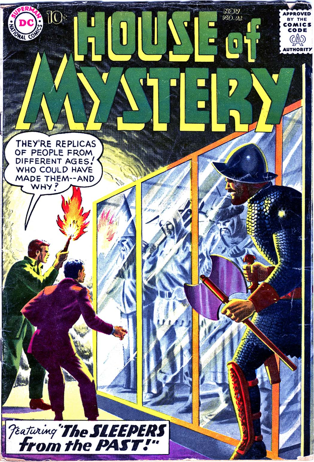 House of Mystery (1951) issue 92 - Page 1