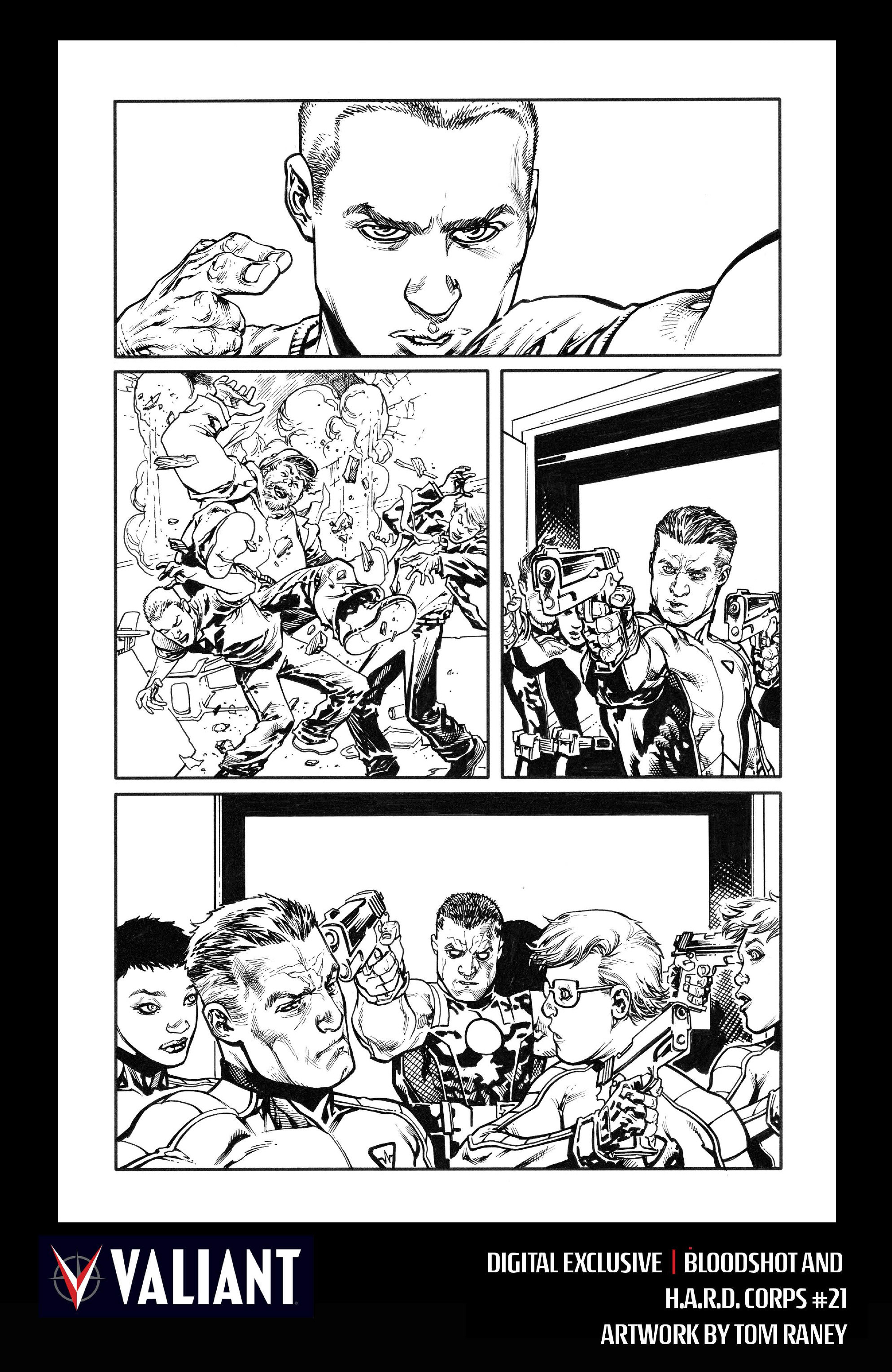Read online Bloodshot and H.A.R.D.Corps comic -  Issue #21 - 24