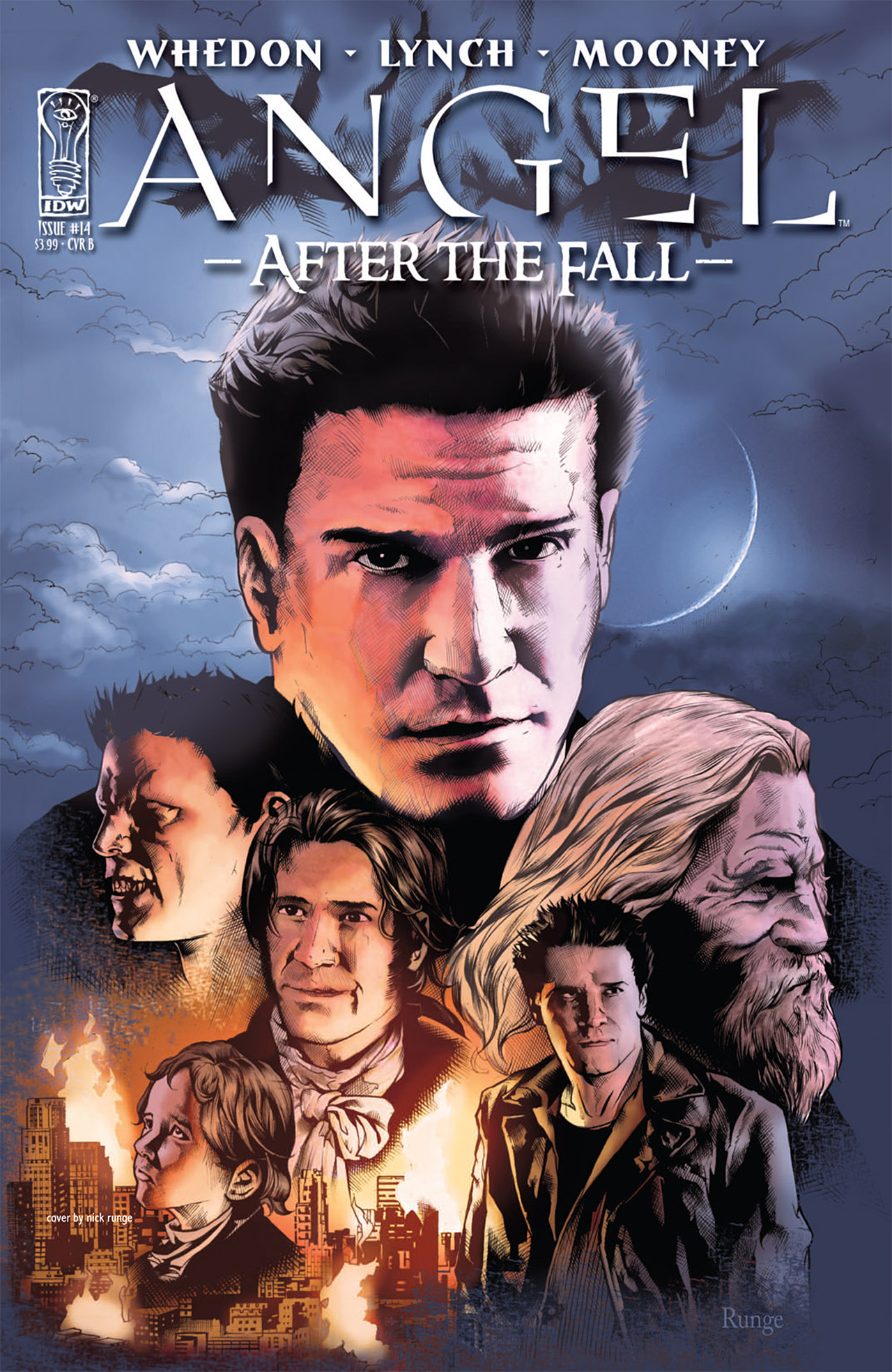 Read online Angel: After The Fall comic -  Issue #14 - 2
