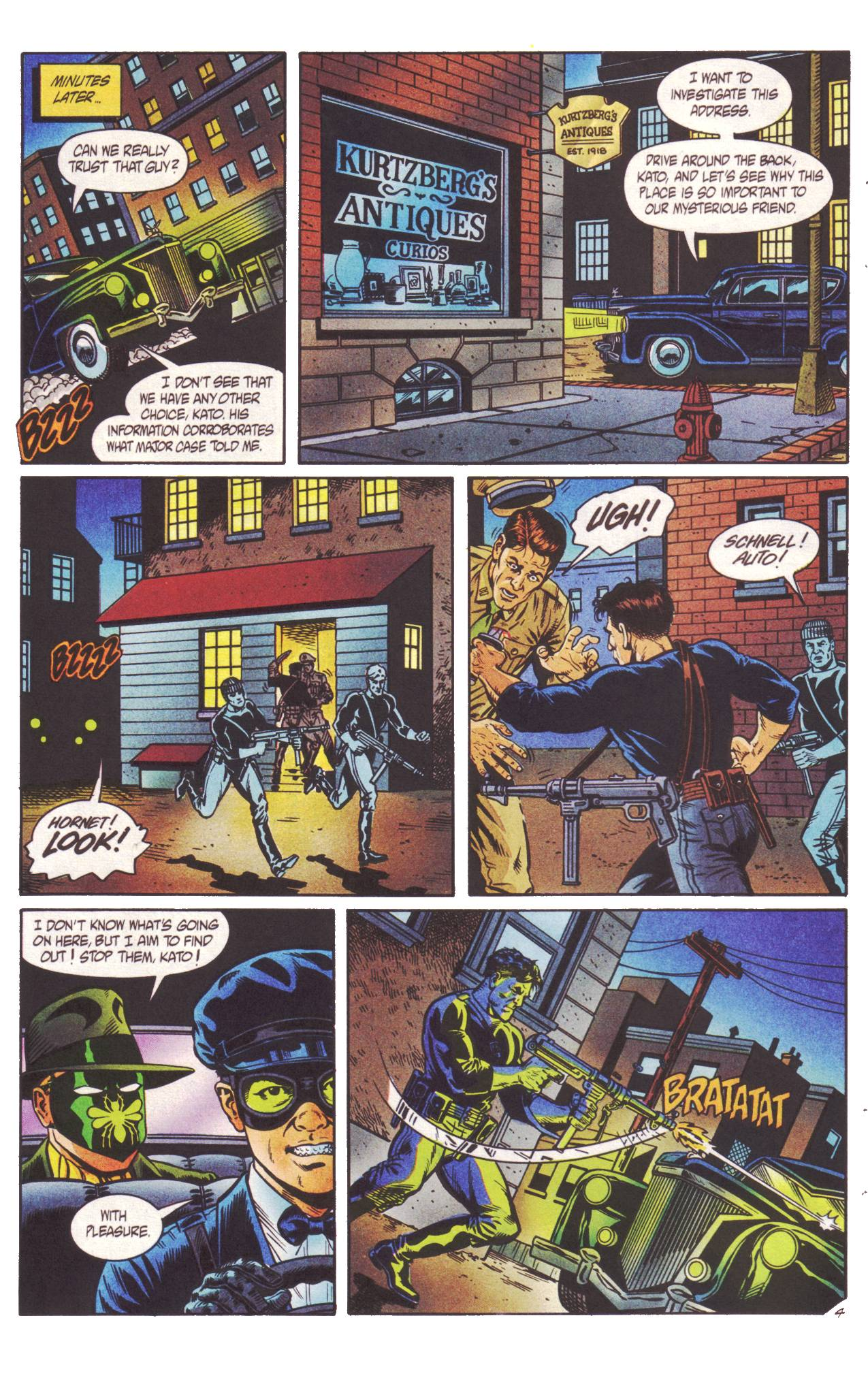 Read online Sting of The Green Hornet comic -  Issue #2 - 5