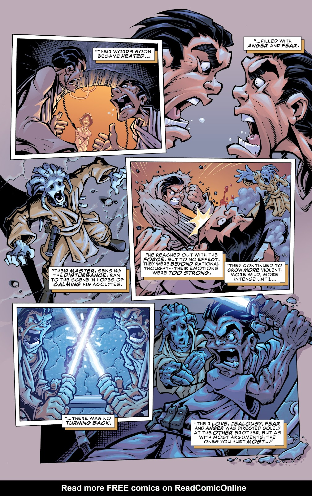 Read online Star Wars Legends: Rise of the Sith - Epic Collection comic -  Issue # TPB 1 (Part 3) - 6