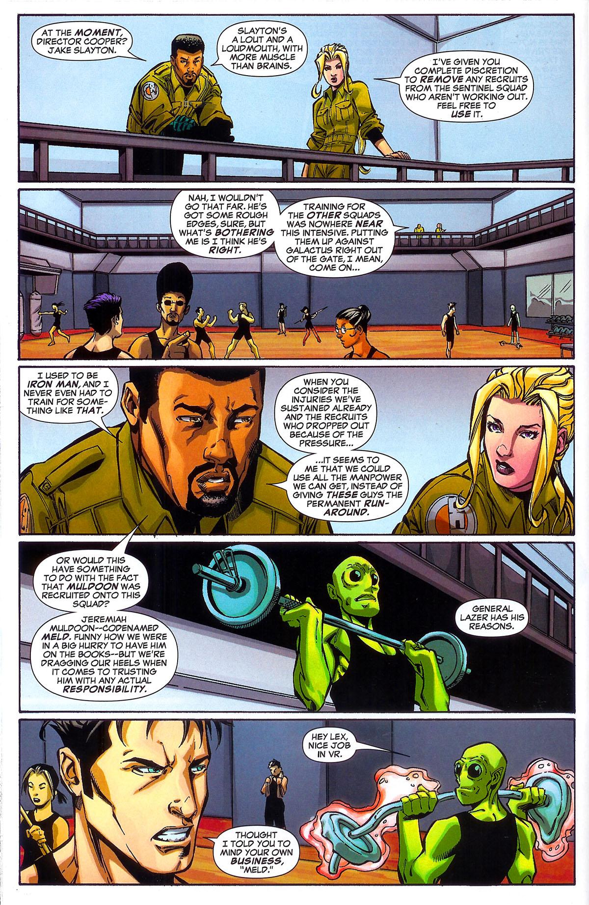 Read online Sentinel Squad O*N*E comic -  Issue #2 - 10