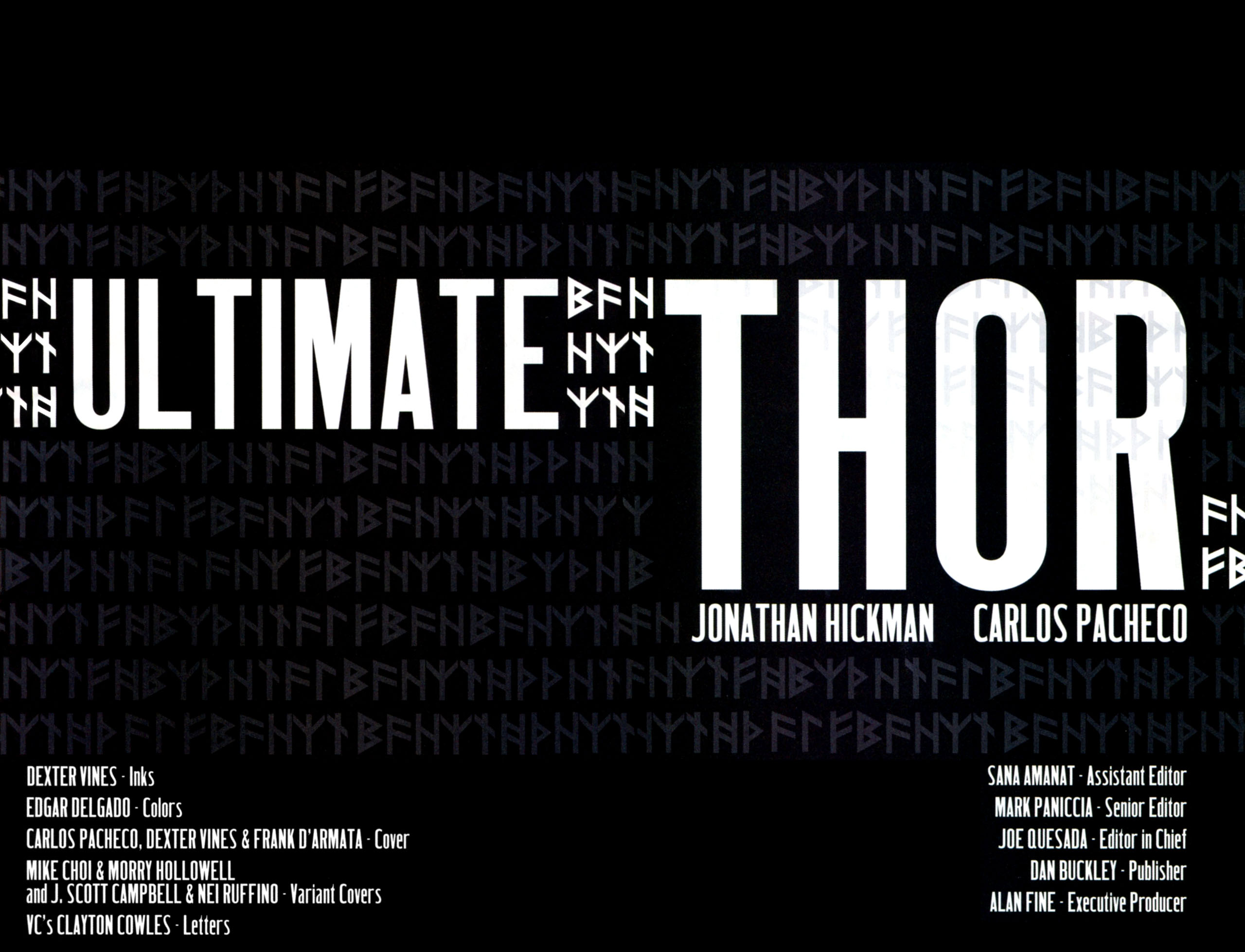 Read online Ultimate Thor comic -  Issue #1 - 6