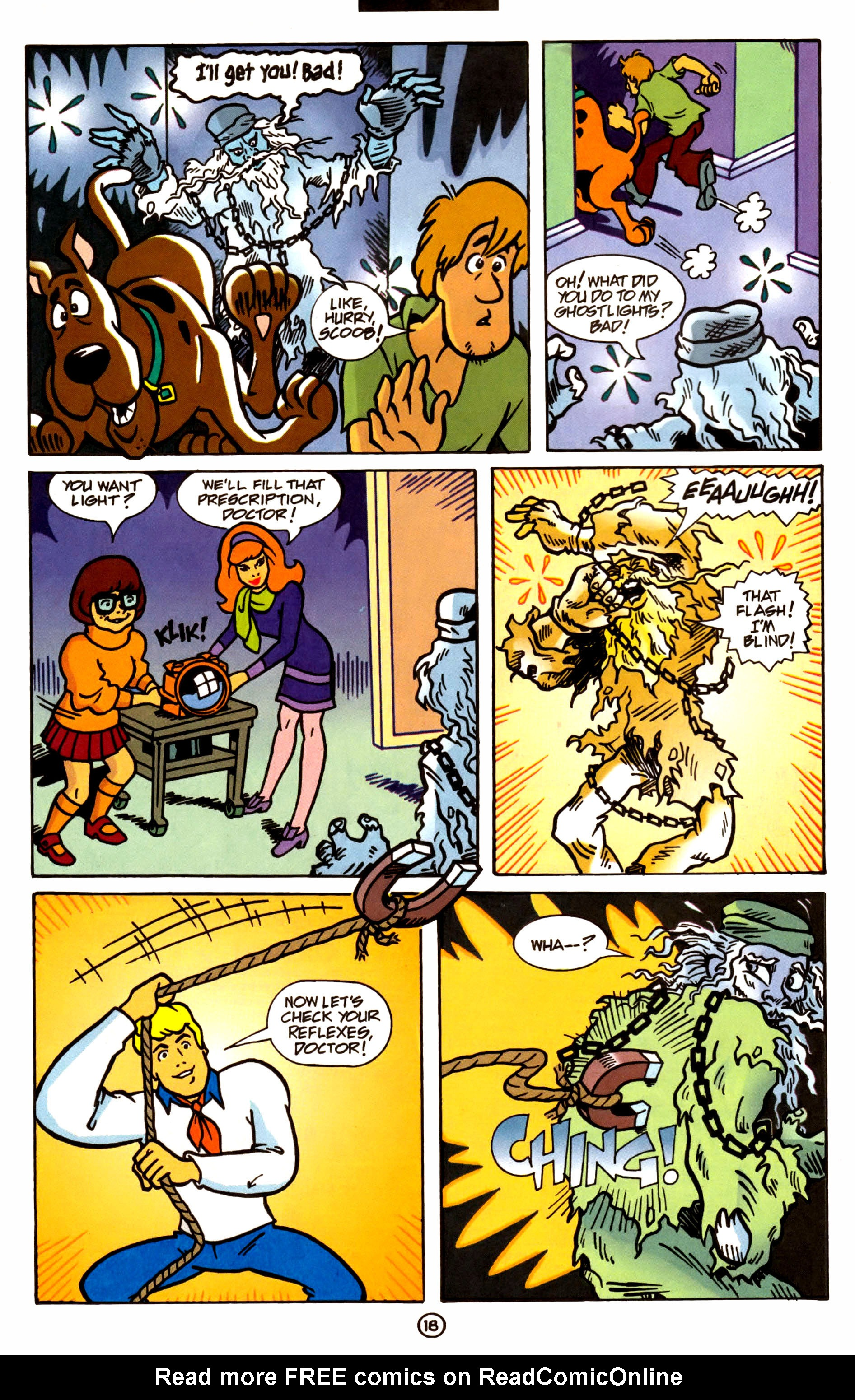 Read online Scooby-Doo (1997) comic -  Issue #1 - 14