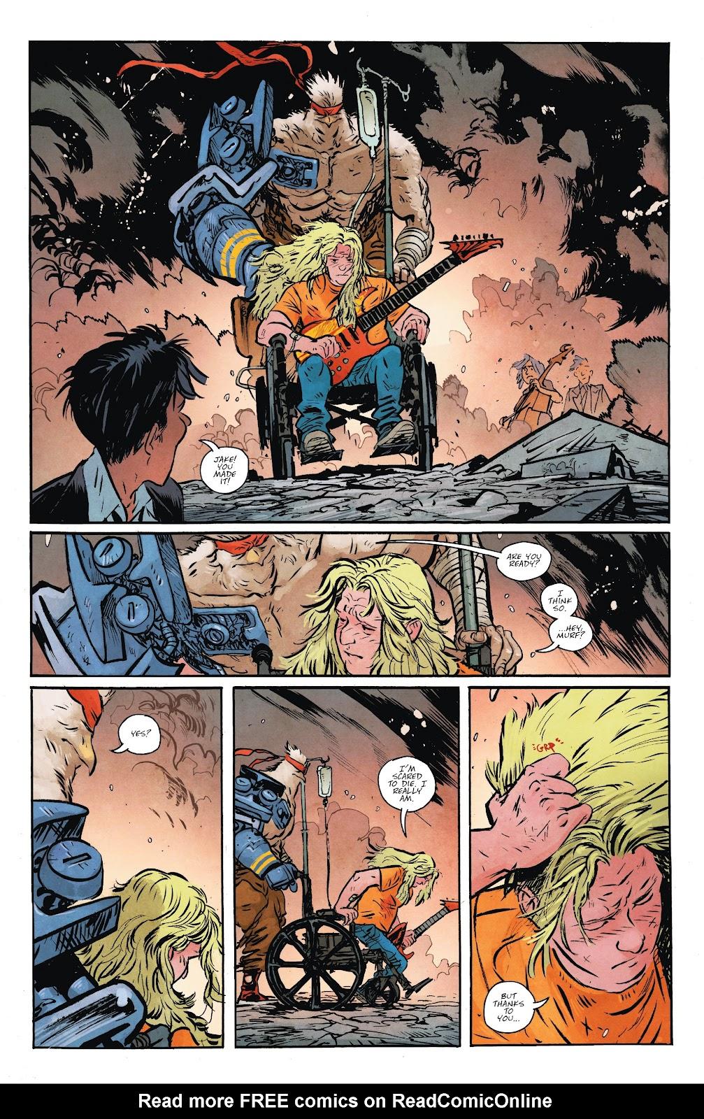 Read online Murder Falcon comic -  Issue #7 - 21