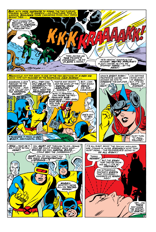 Uncanny X-Men (1963) 33 Page 3