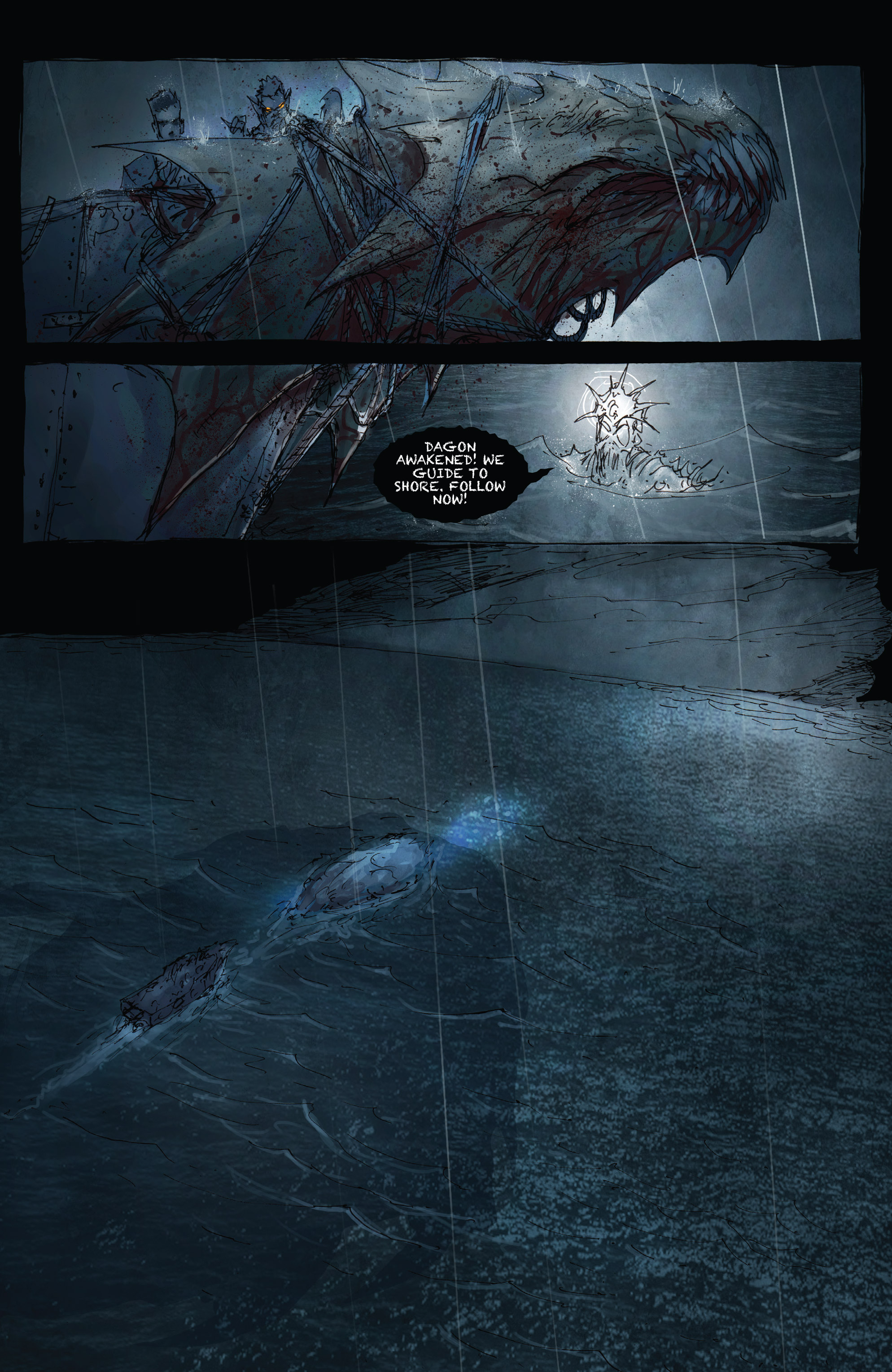 Read online Broken Moon: Legends of the Deep comic -  Issue #5 - 17