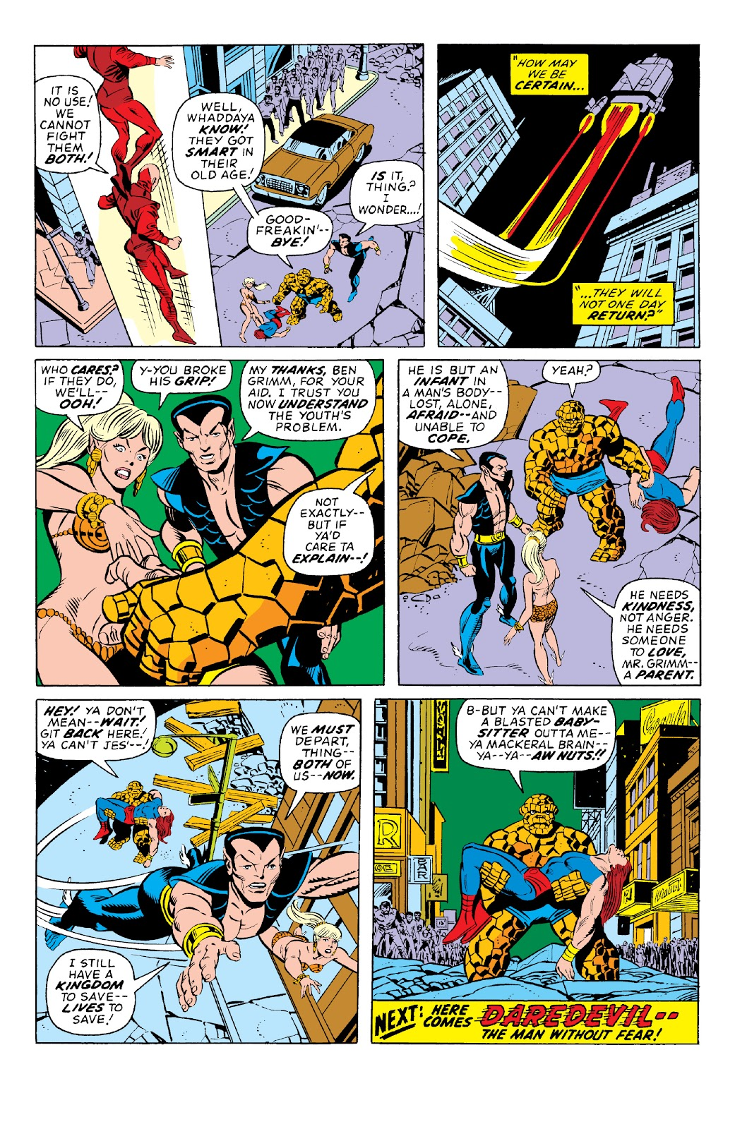 Read online Marvel Two-In-One Epic Collection: Cry Monster comic -  Issue # TPB (Part 1) - 84