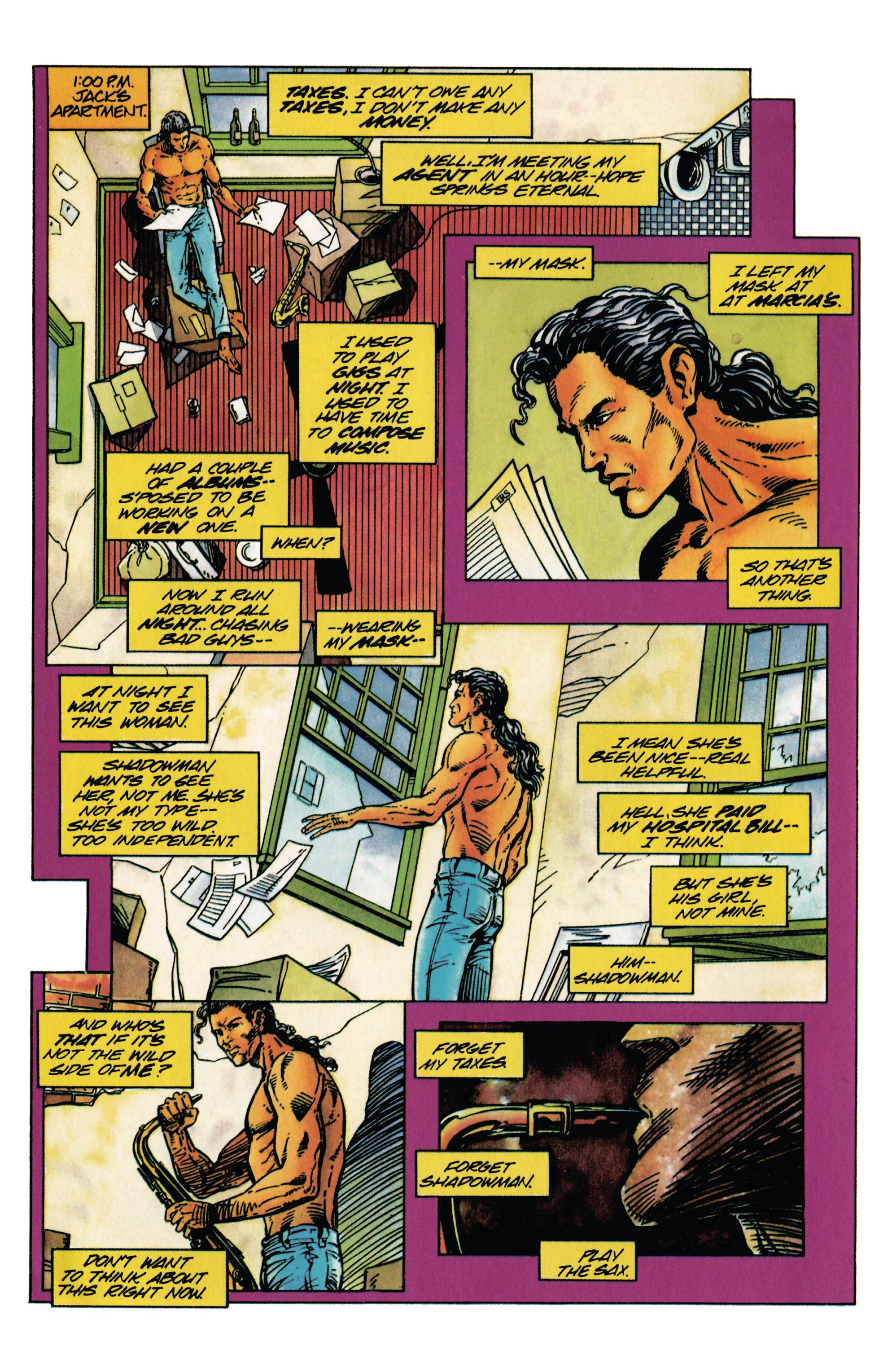 Read online Shadowman (1992) comic -  Issue #28 - 7