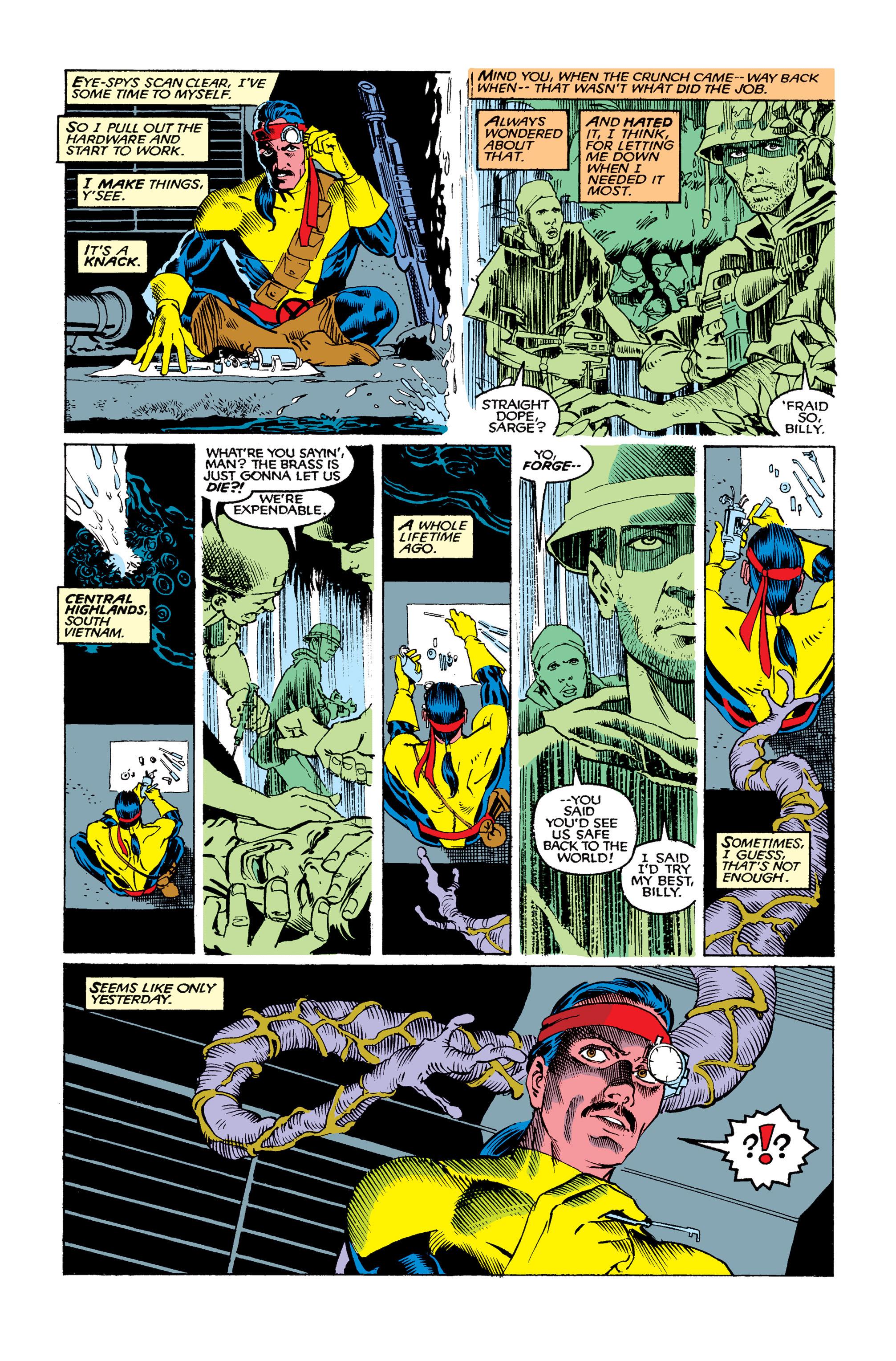 Read online Uncanny X-Men (1963) comic -  Issue #263 - 3