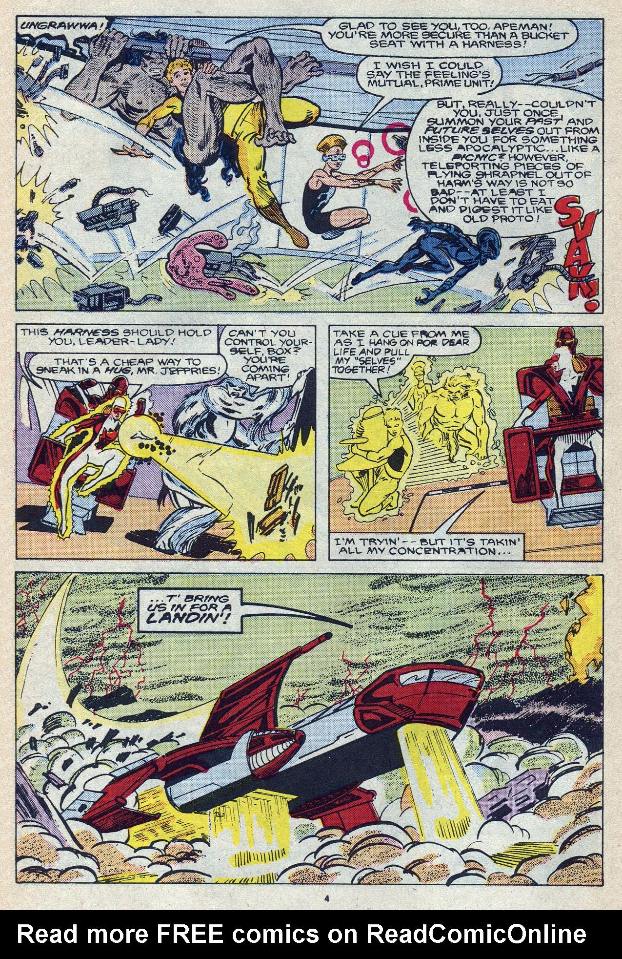Read online Alpha Flight (1983) comic -  Issue #57 - 6