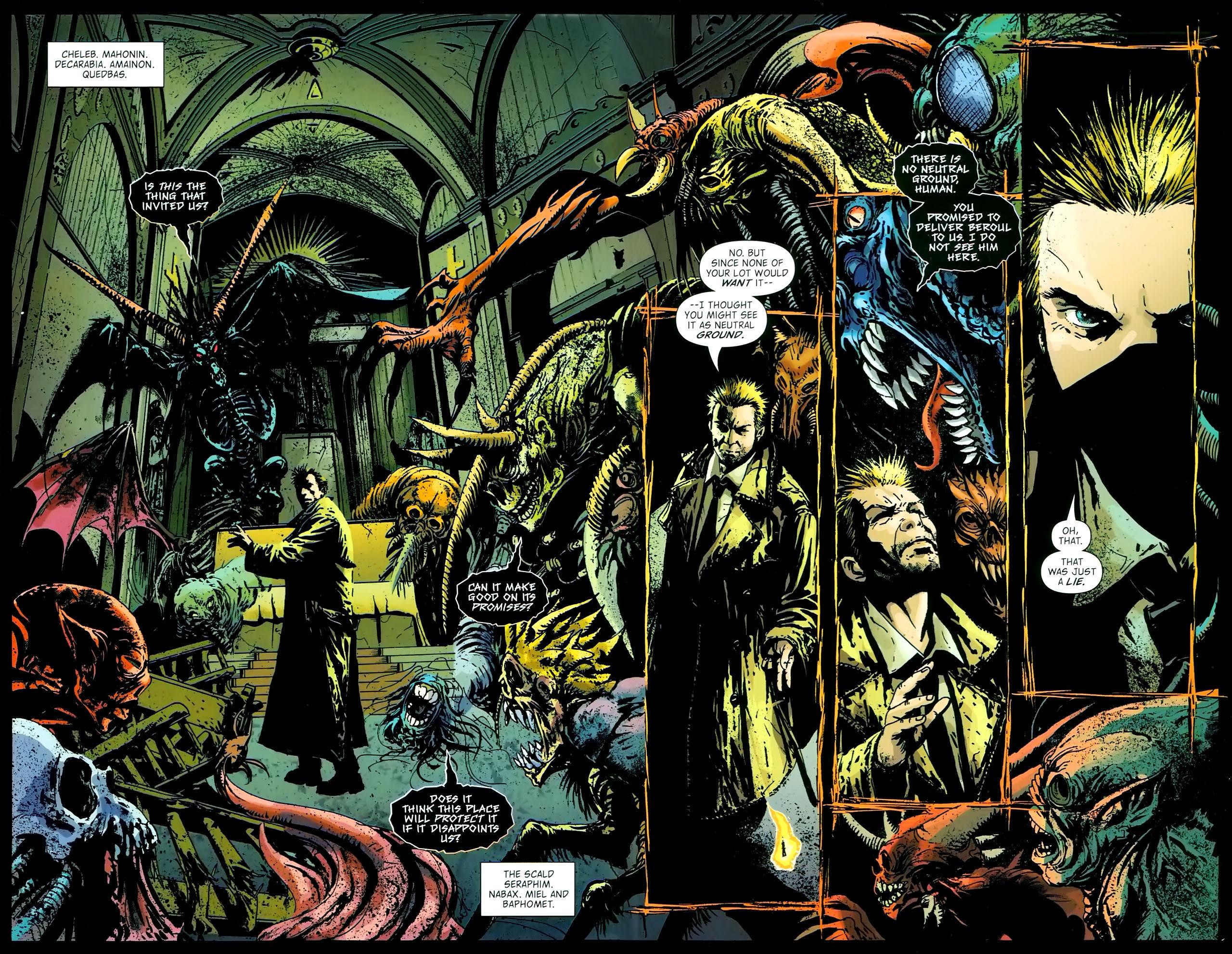 Read online John Constantine Hellblazer: All His Engines comic -  Issue # Full - 79