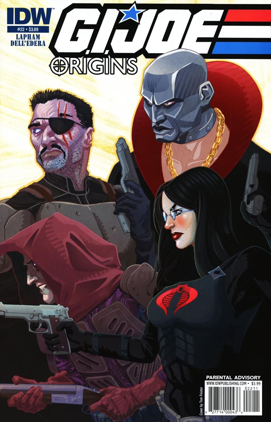 G.I. Joe: Origins issue 22 - Page 1