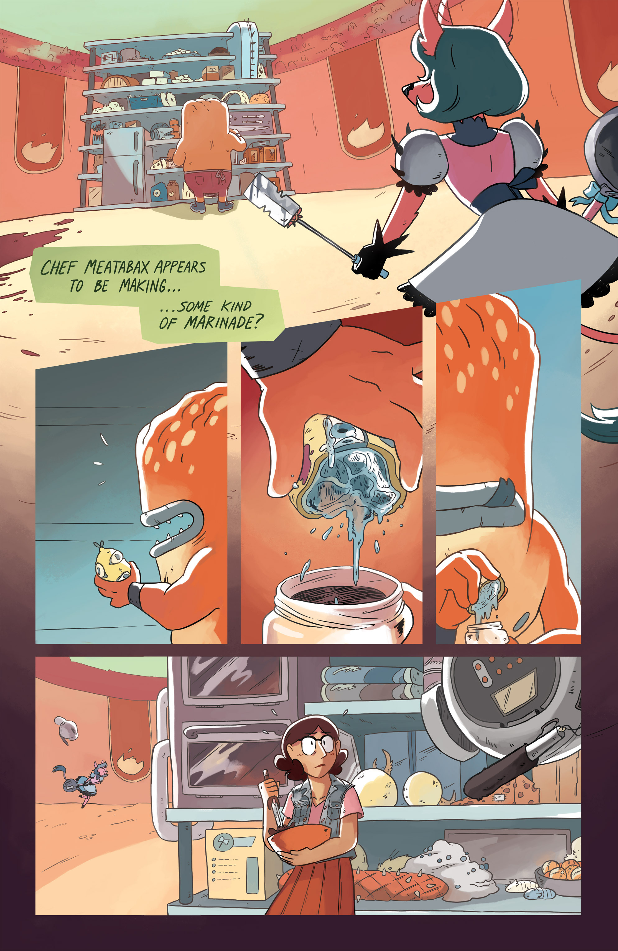 Read online Space Battle Lunchtime comic -  Issue #6 - 13