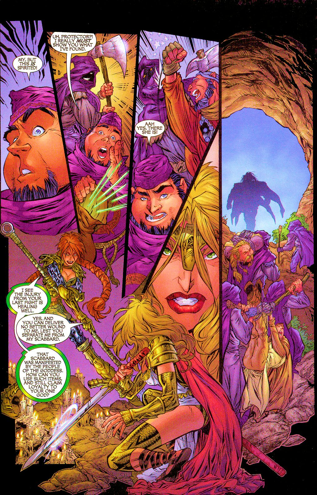 Read online Lady Pendragon / More Than Mortal comic -  Issue #1 - 12