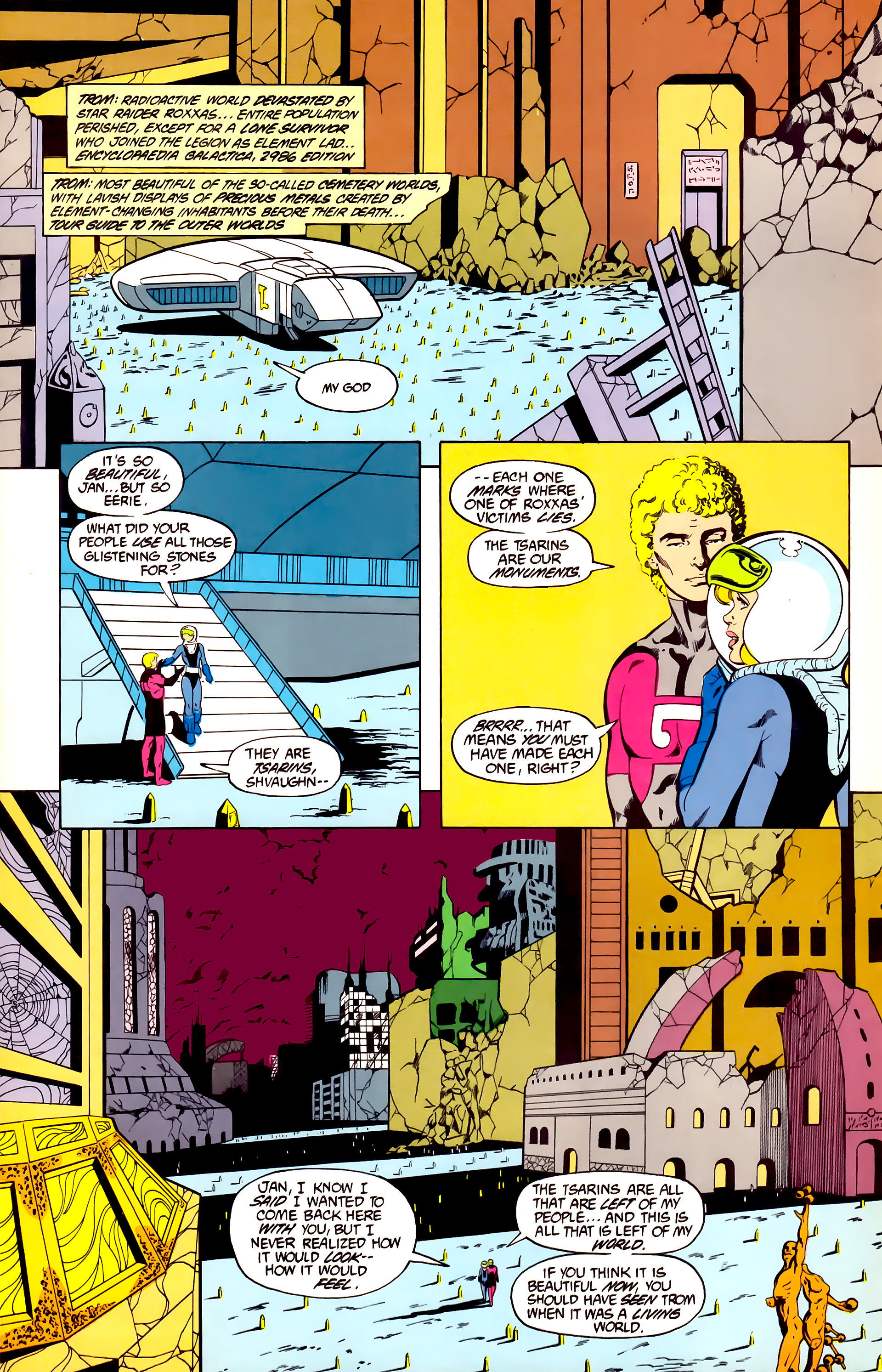 Legion of Super-Heroes (1984) 27 Page 7